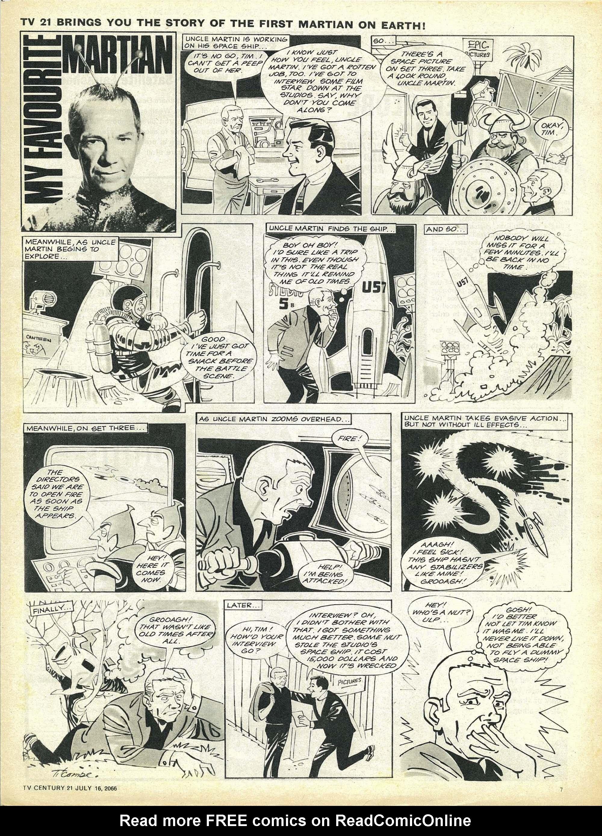 Read online TV Century 21 (TV 21) comic -  Issue #78 - 7