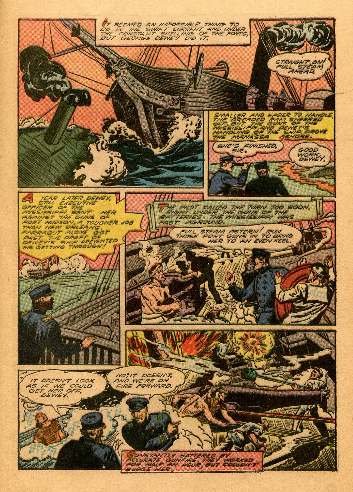 Read online Shadow Comics comic -  Issue #53 - 46