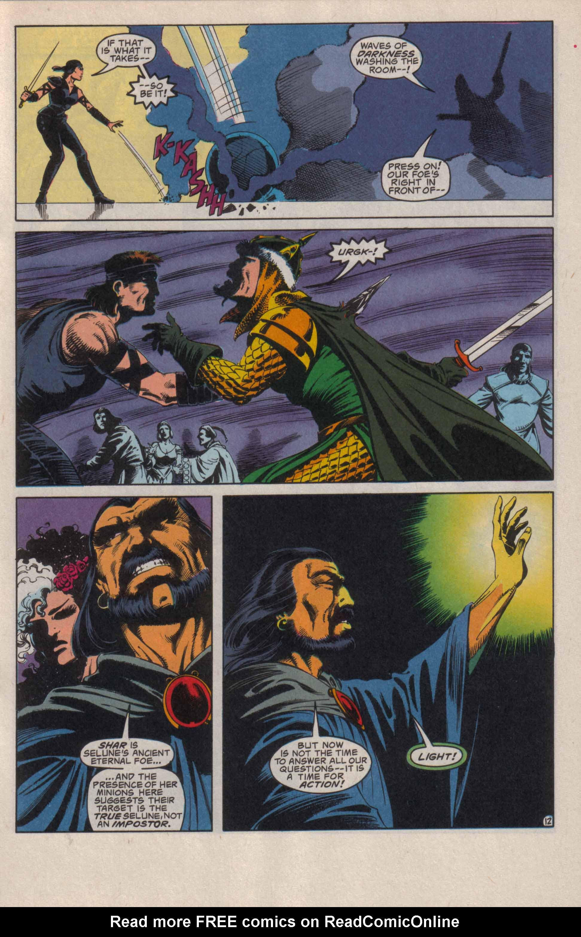 Read online Advanced Dungeons & Dragons comic -  Issue #20 - 13