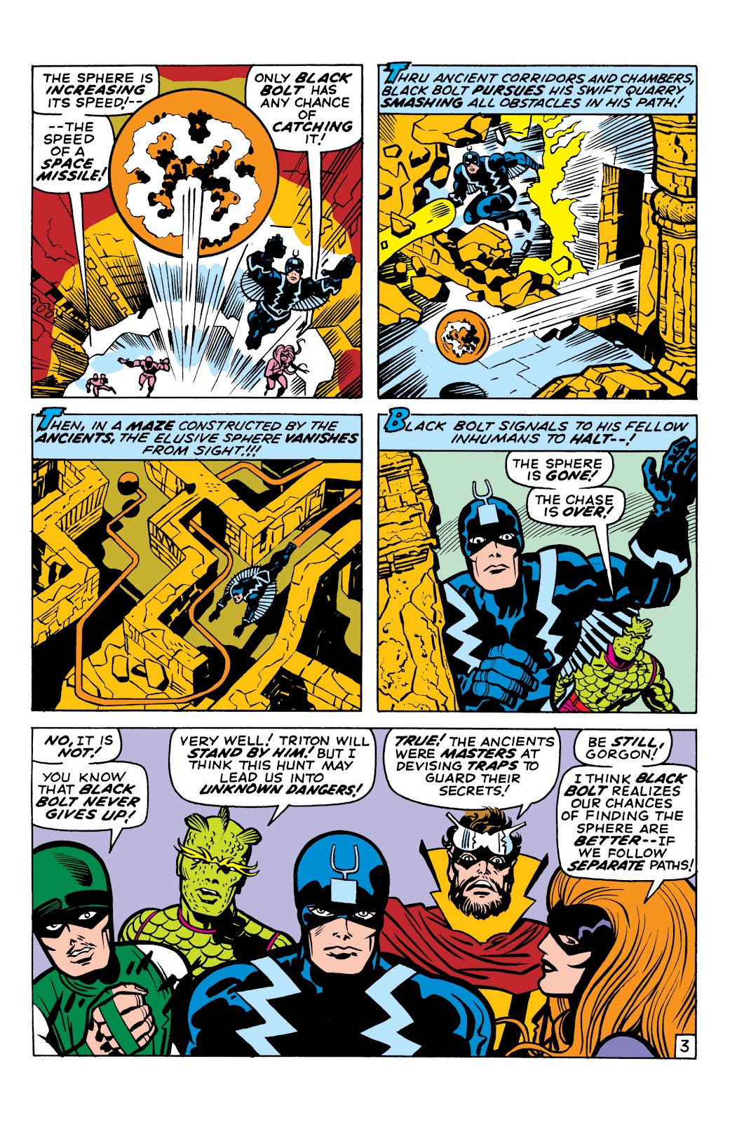 Read online Marvel Masterworks: The Inhumans comic -  Issue # TPB 1 (Part 2) - 5