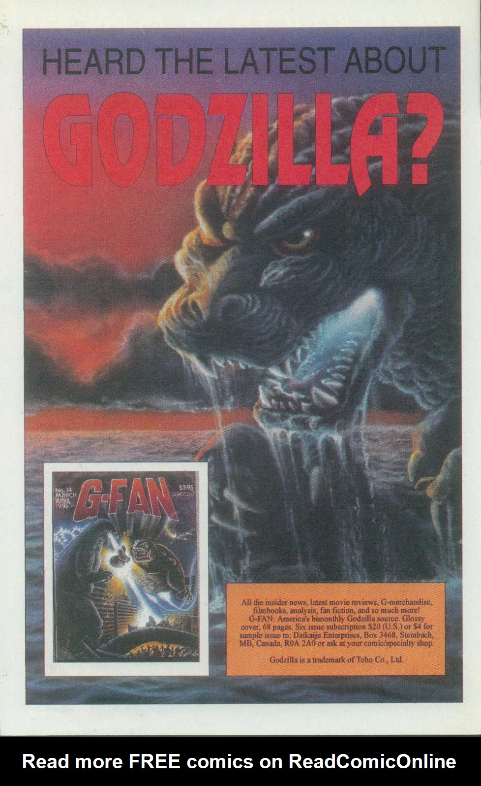 Godzilla (1995) Issue #1 #2 - English 35