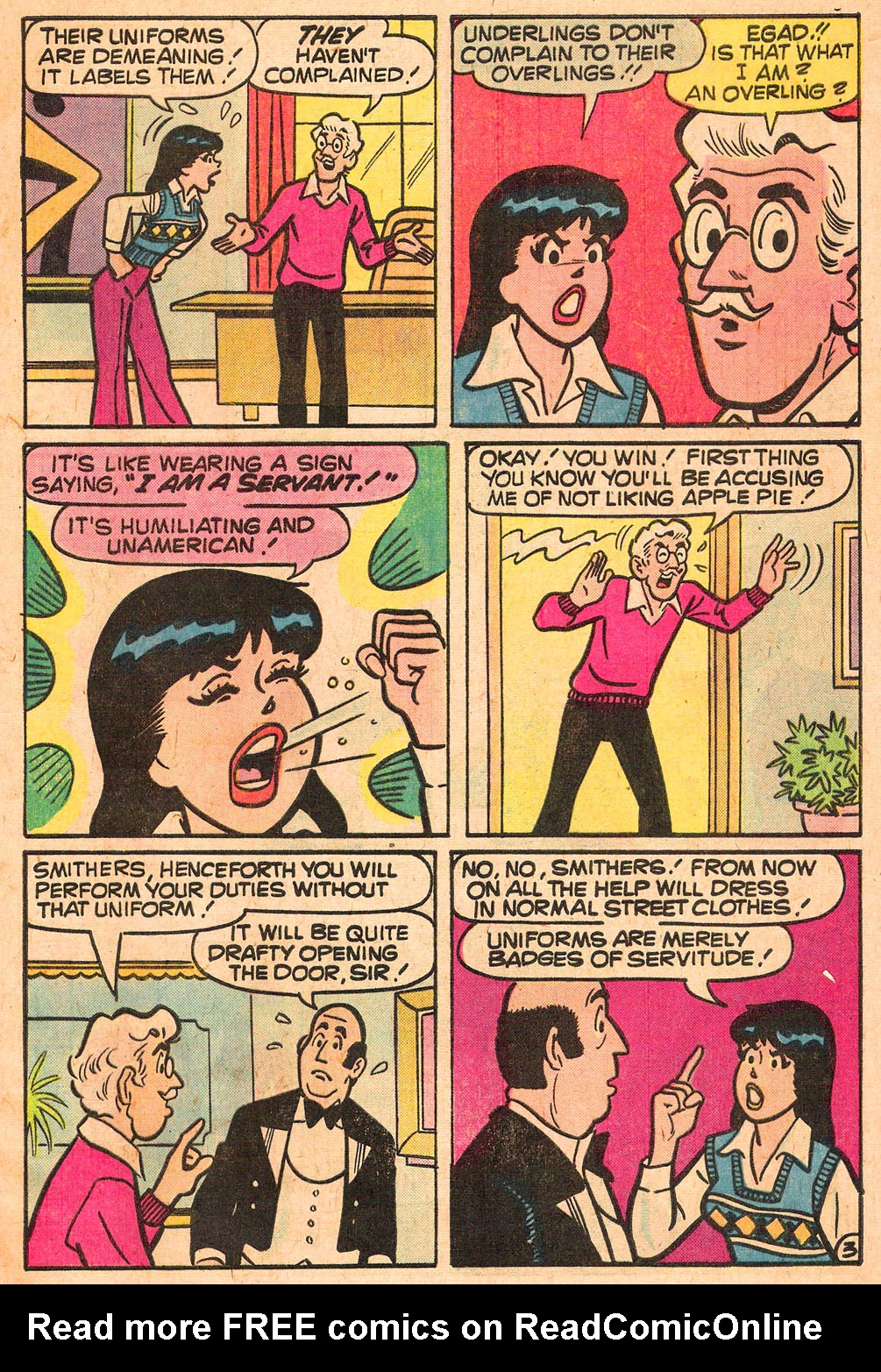 Read online Archie's Girls Betty and Veronica comic -  Issue #267 - 5