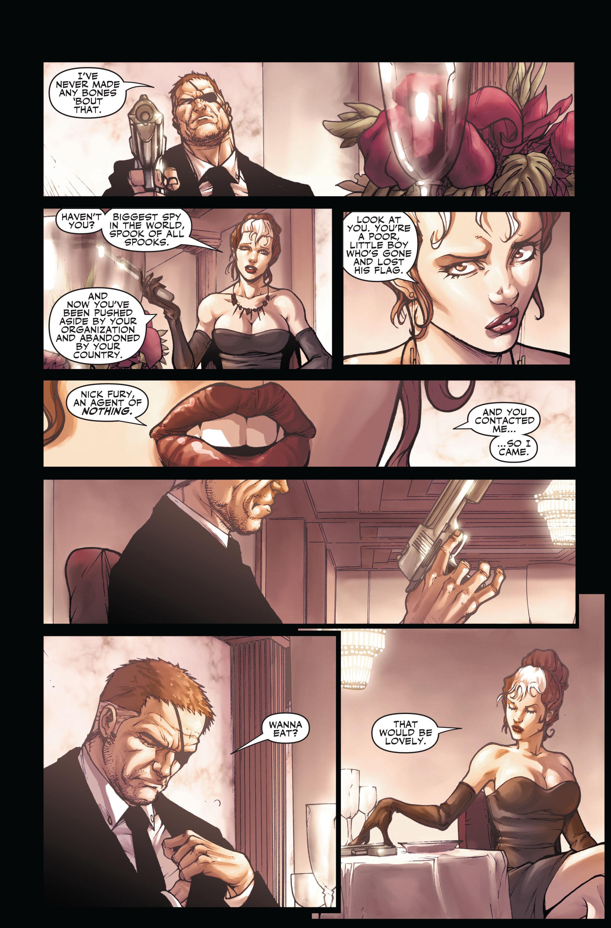 Read online Secret Warriors comic -  Issue #3 - 12
