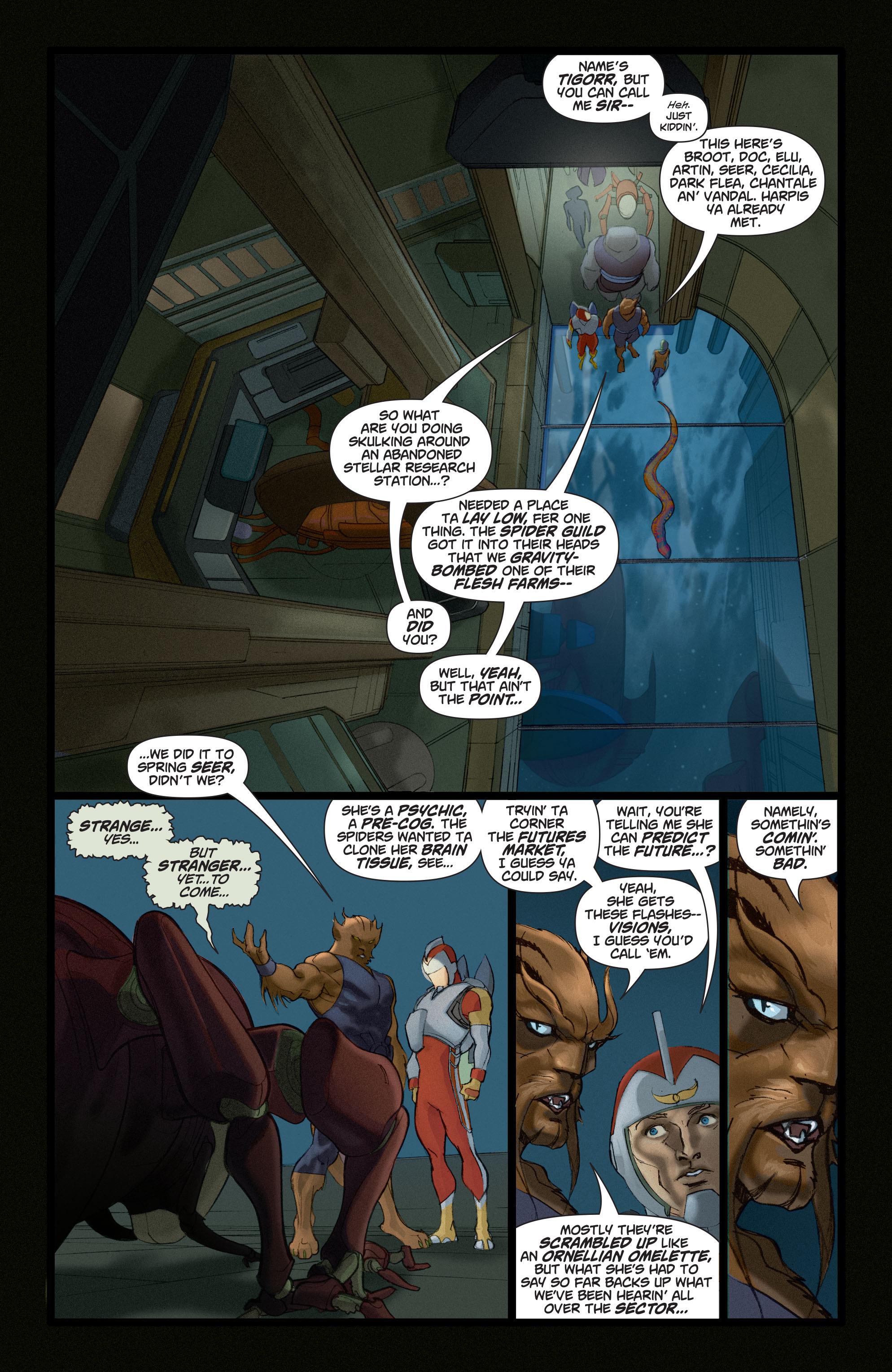 Read online Adam Strange (2004) comic -  Issue #4 - 13