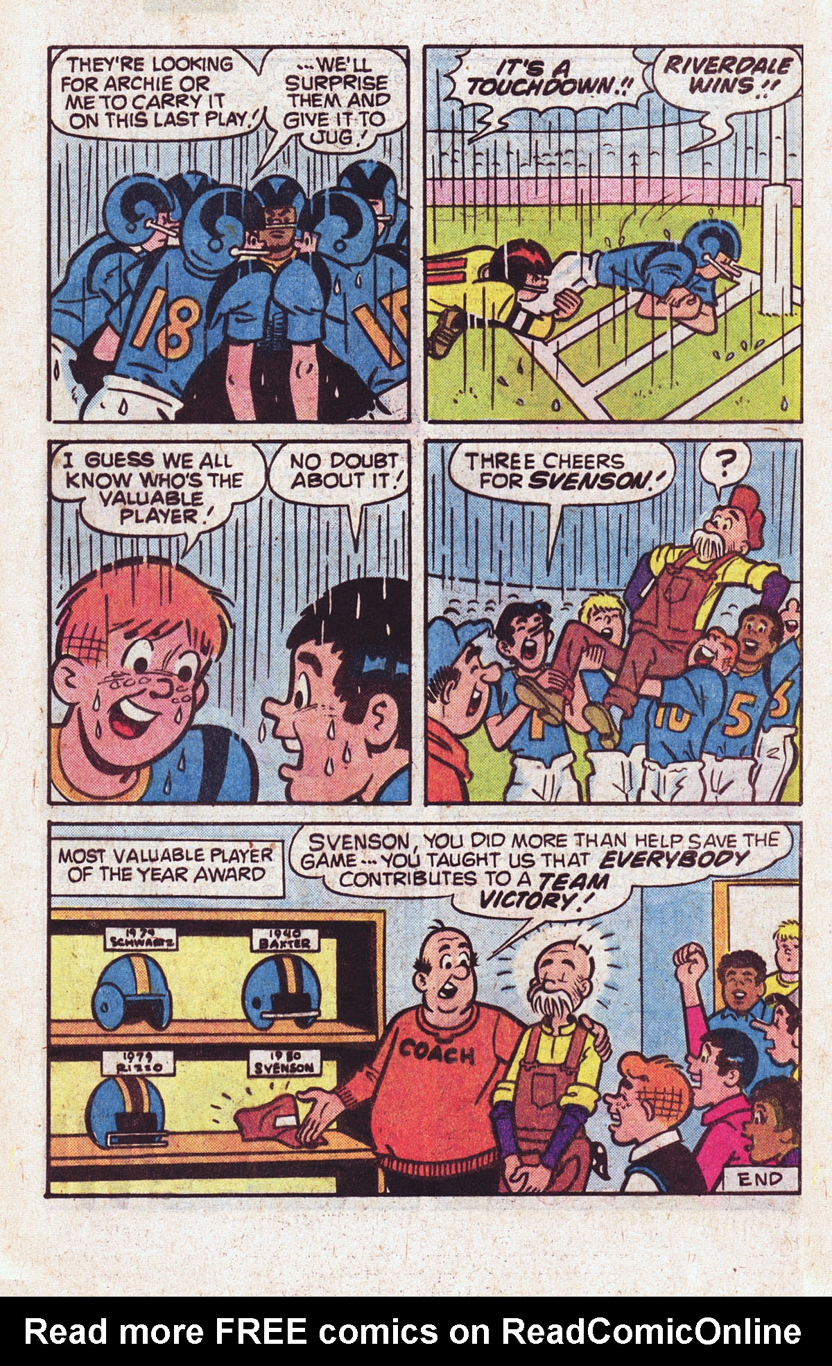 Read online Archie (1960) comic -  Issue #301 - 8