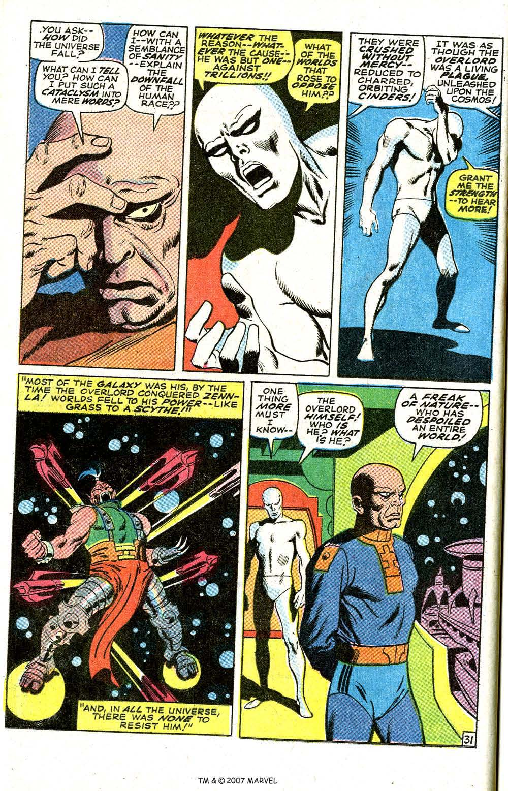 Read online Silver Surfer (1968) comic -  Issue #6 - 38