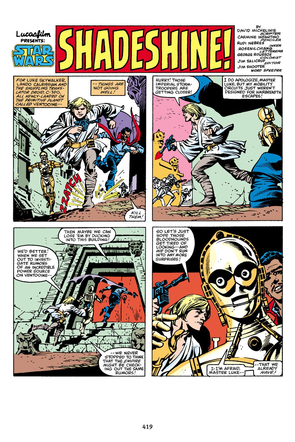 Read online Star Wars Omnibus comic -  Issue # Vol. 16 - 411