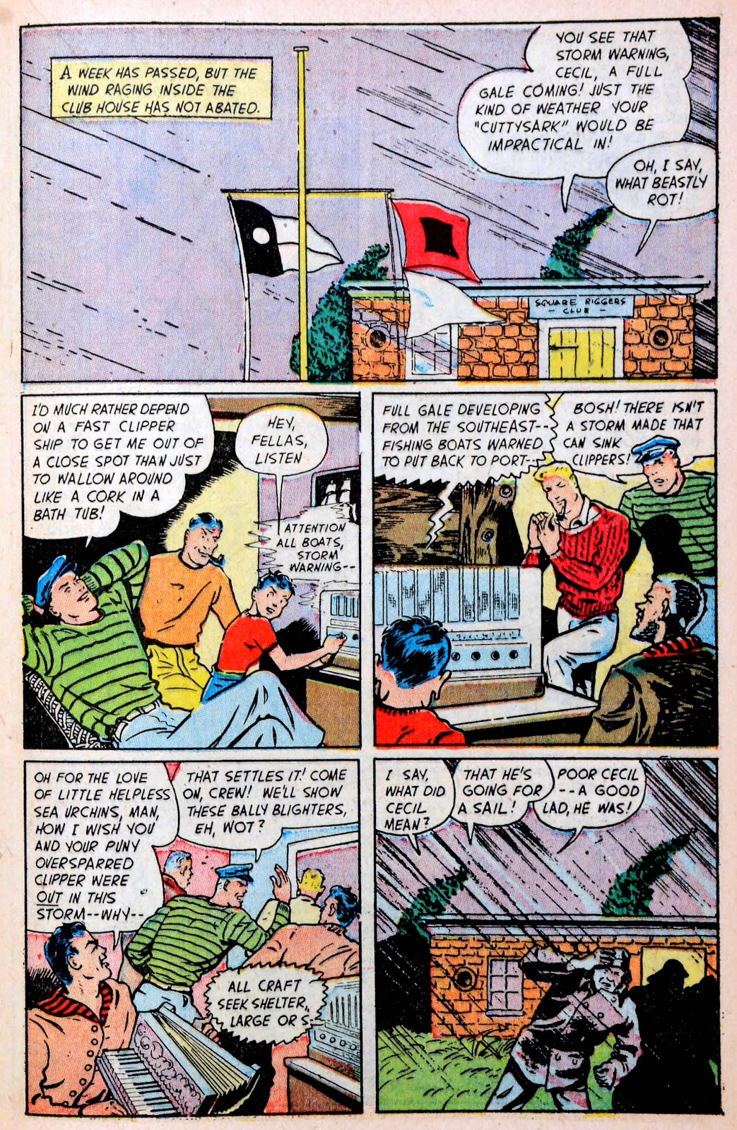 Read online Famous Funnies comic -  Issue #194 - 25