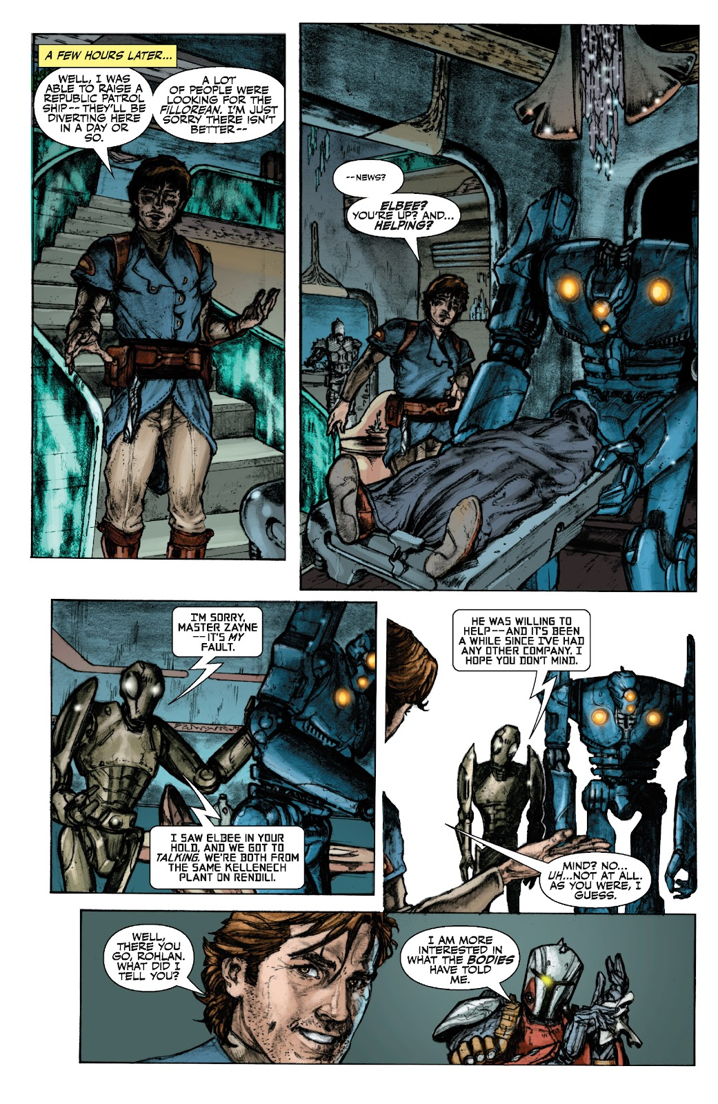 Read online Star Wars Legends: The Old Republic - Epic Collection comic -  Issue # TPB 3 (Part 1) - 15