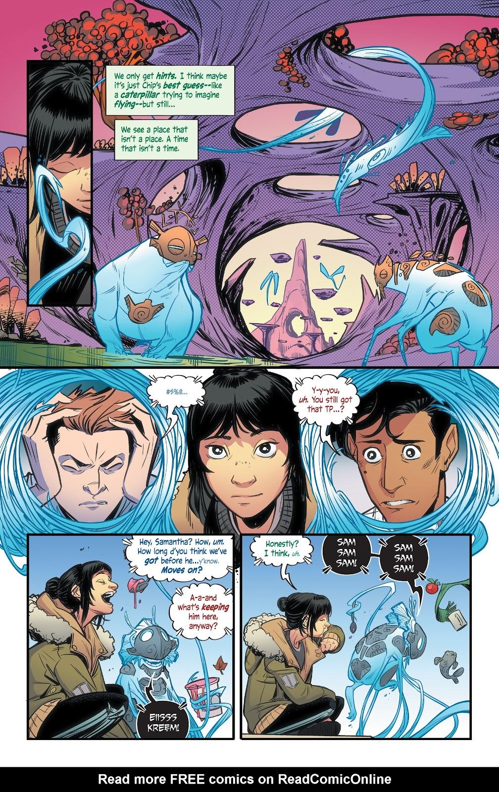 Read online Alienated comic -  Issue #3 - 23