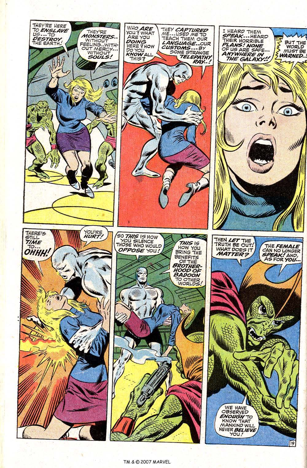 Read online Silver Surfer (1968) comic -  Issue #2 - 26
