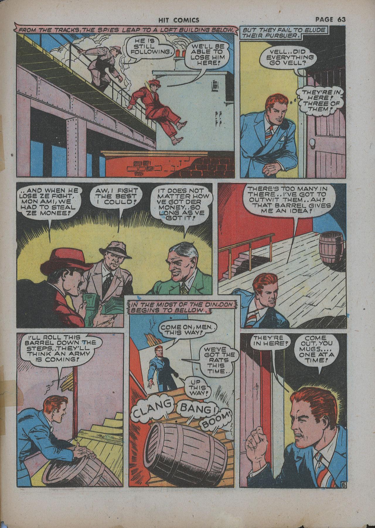 Read online Hit Comics comic -  Issue #22 - 65