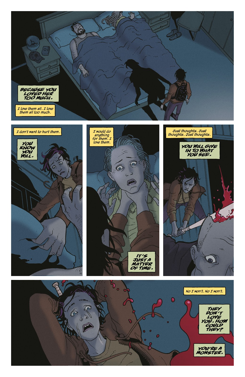 Read online She Could Fly comic -  Issue # _TPB - 32