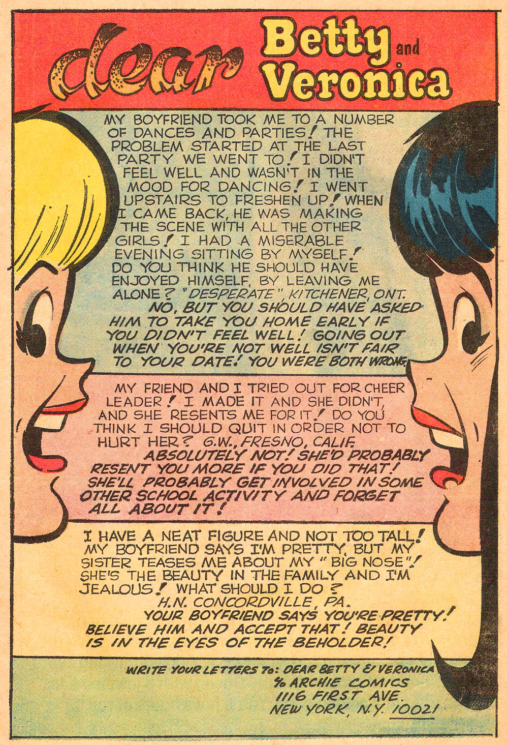 Read online Archie's Girls Betty and Veronica comic -  Issue #191 - 11