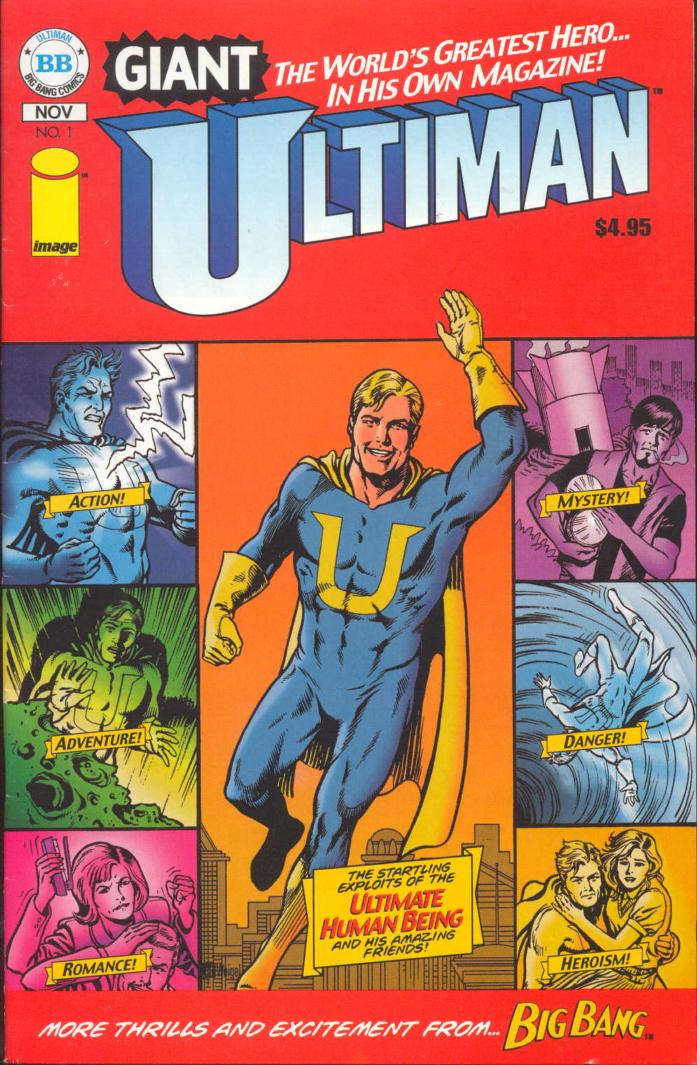 Read online Ultiman Giant  Annual comic -  Issue # Full - 1
