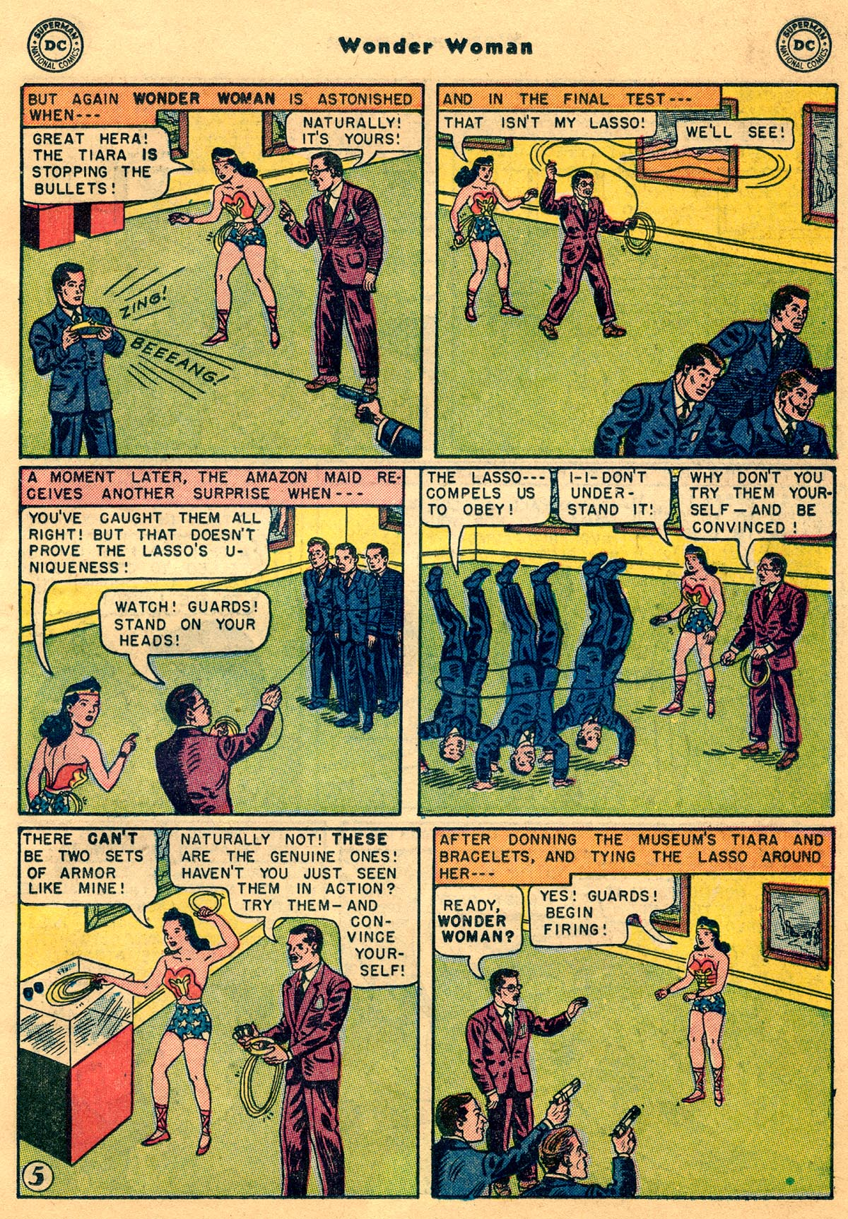 Read online Wonder Woman (1942) comic -  Issue #68 - 19