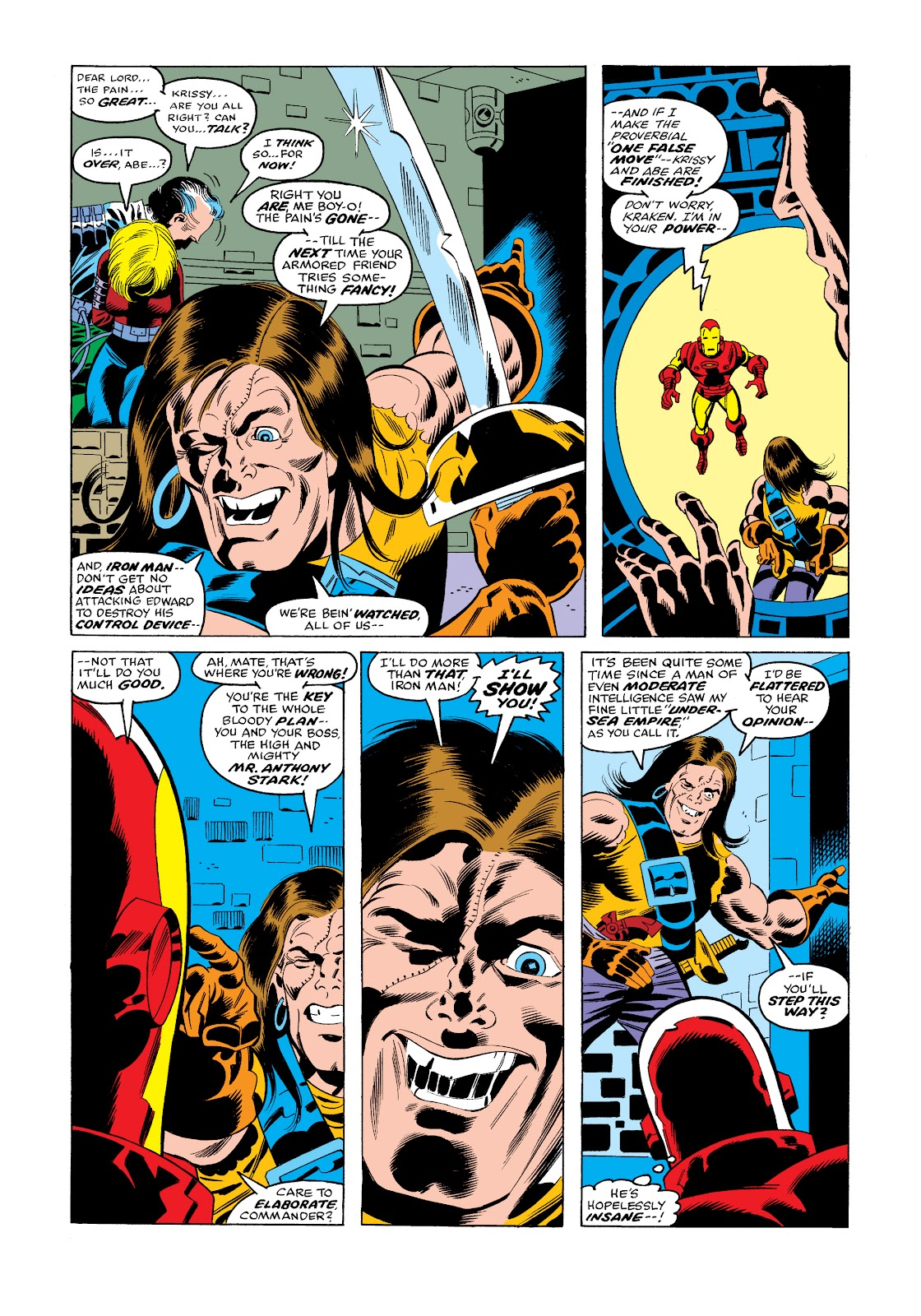 Read online Marvel Masterworks: The Invincible Iron Man comic -  Issue # TPB 11 (Part 3) - 69