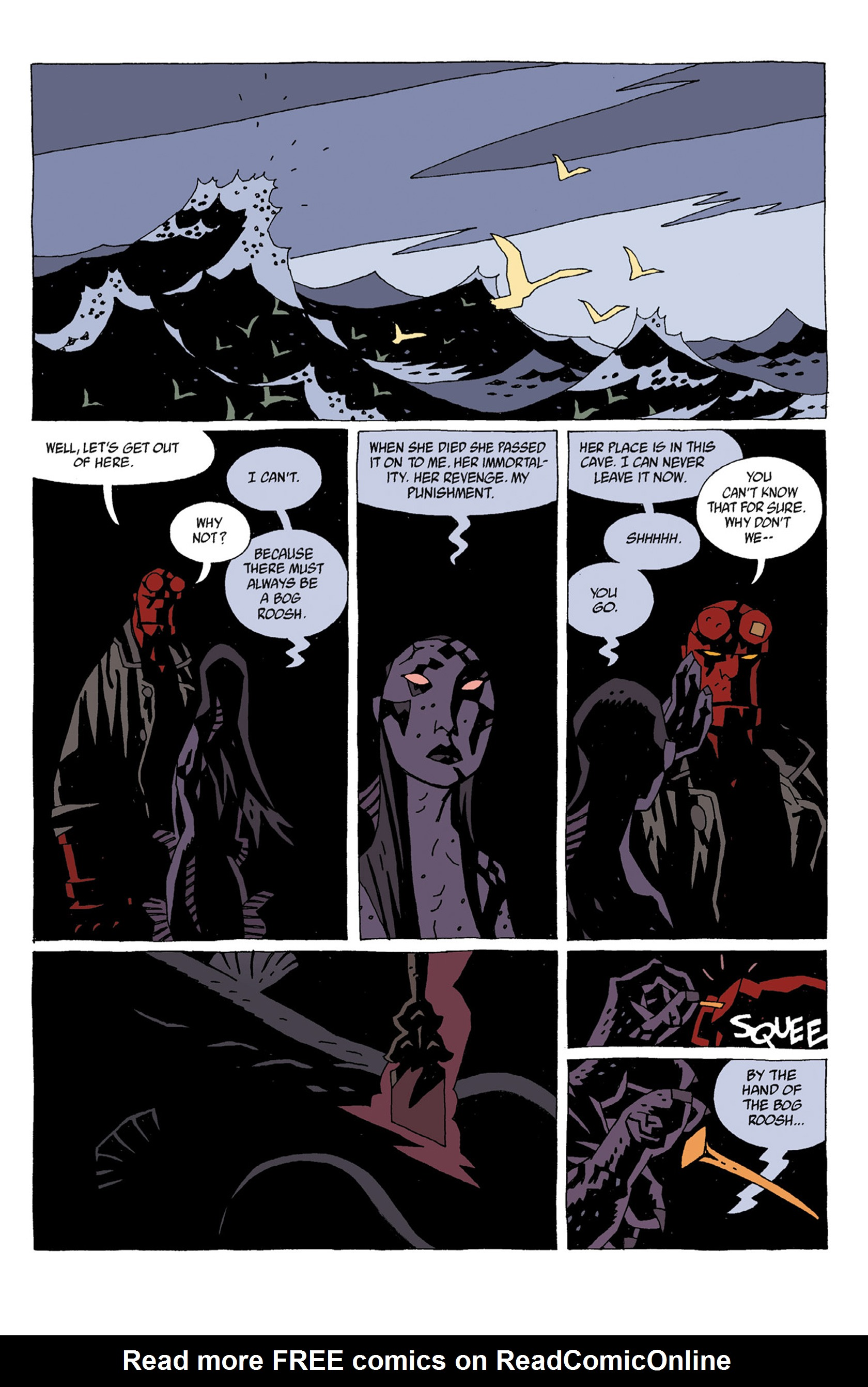 Read online Hellboy: Strange Places comic -  Issue # TPB - 63