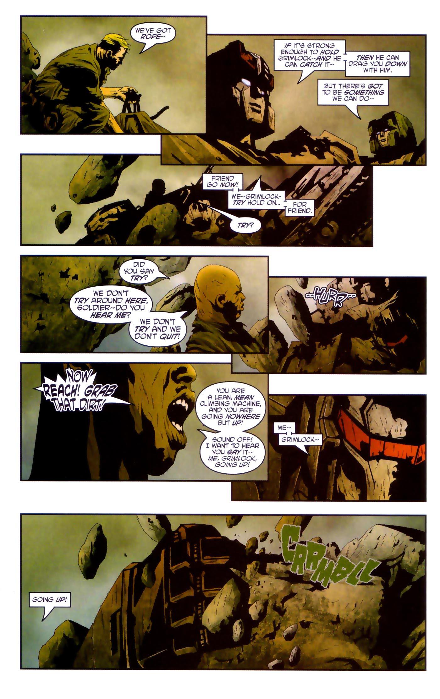 Read online Transformers/G.I. Joe comic -  Issue #4 - 12