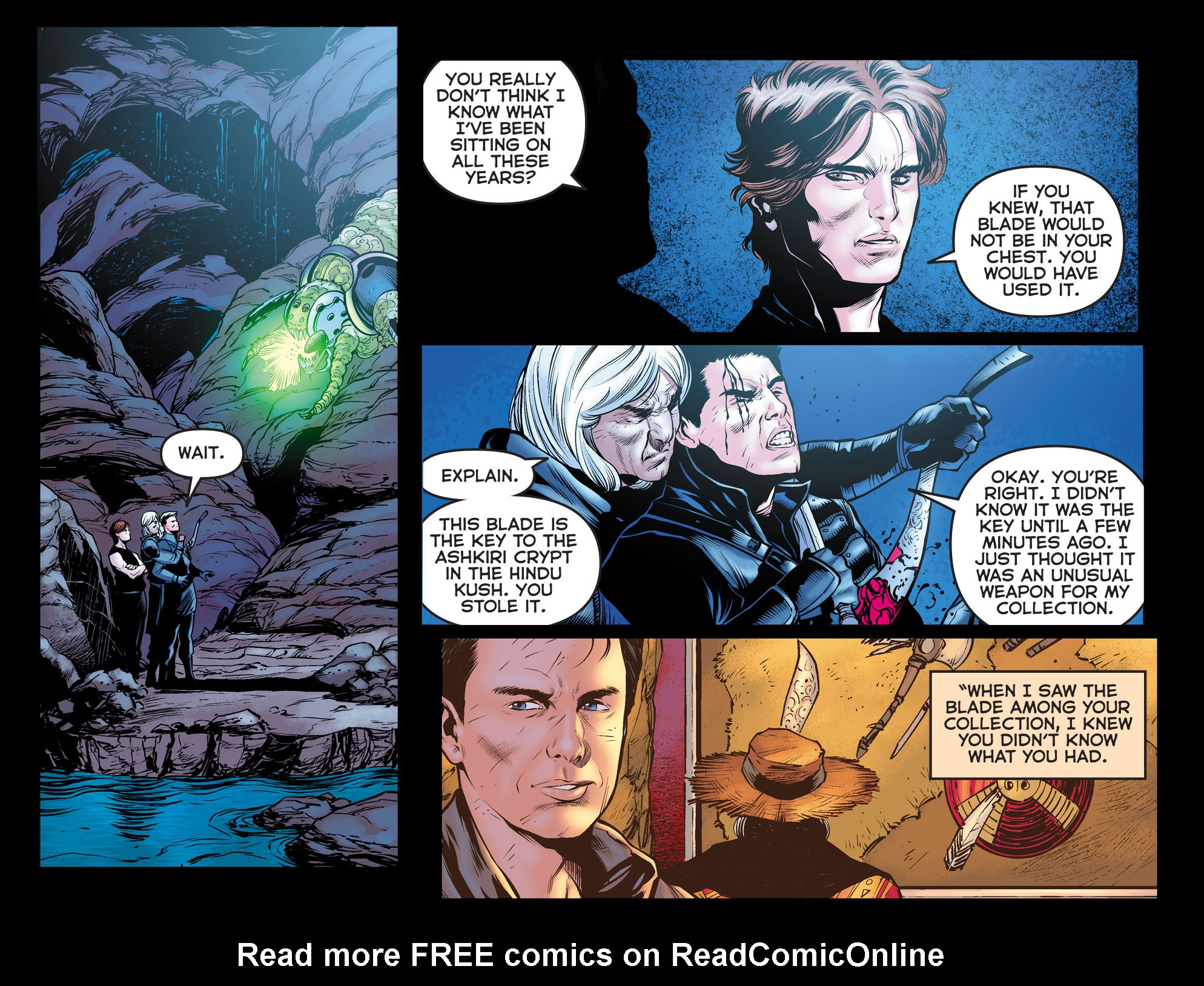 Read online Arrow: The Dark Archer comic -  Issue #11 - 11