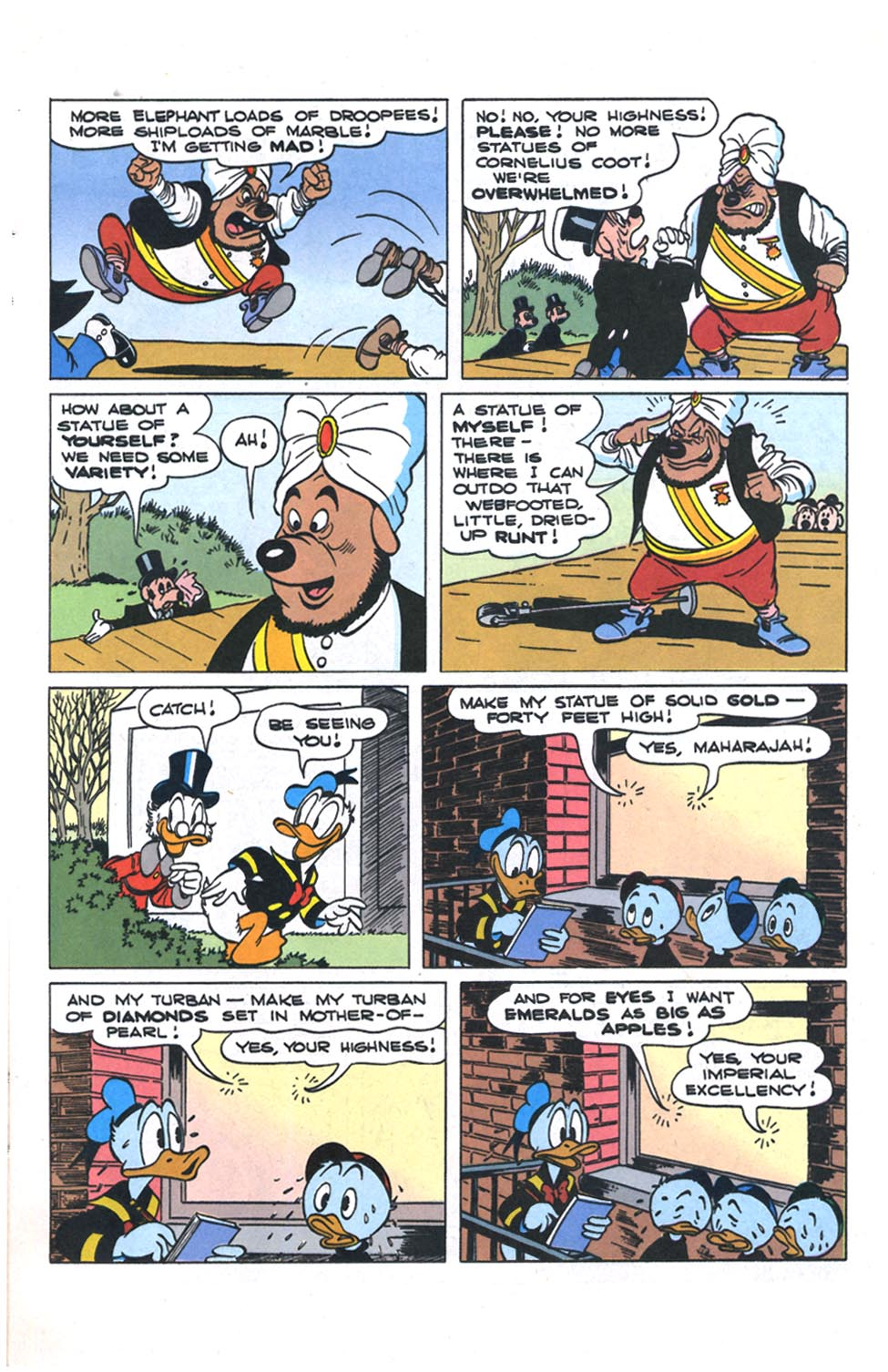 Read online Uncle Scrooge (1953) comic -  Issue #301 - 8