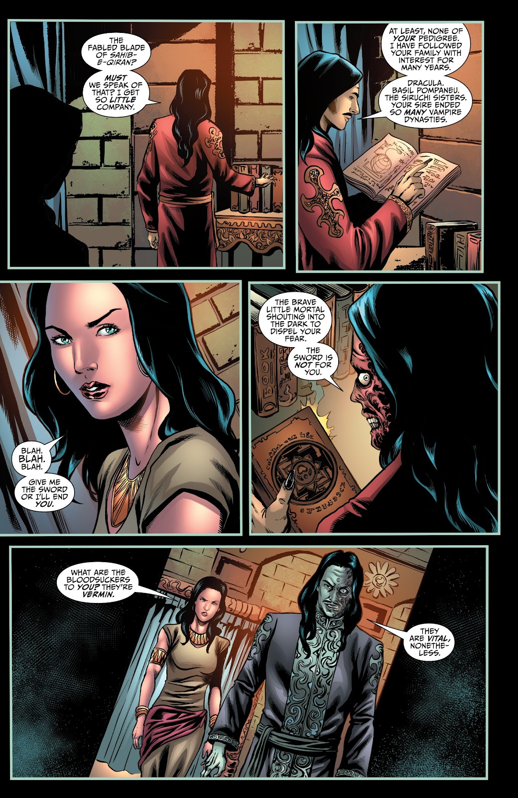 Read online Van Helsing: Sword of Heaven comic -  Issue #4 - 22