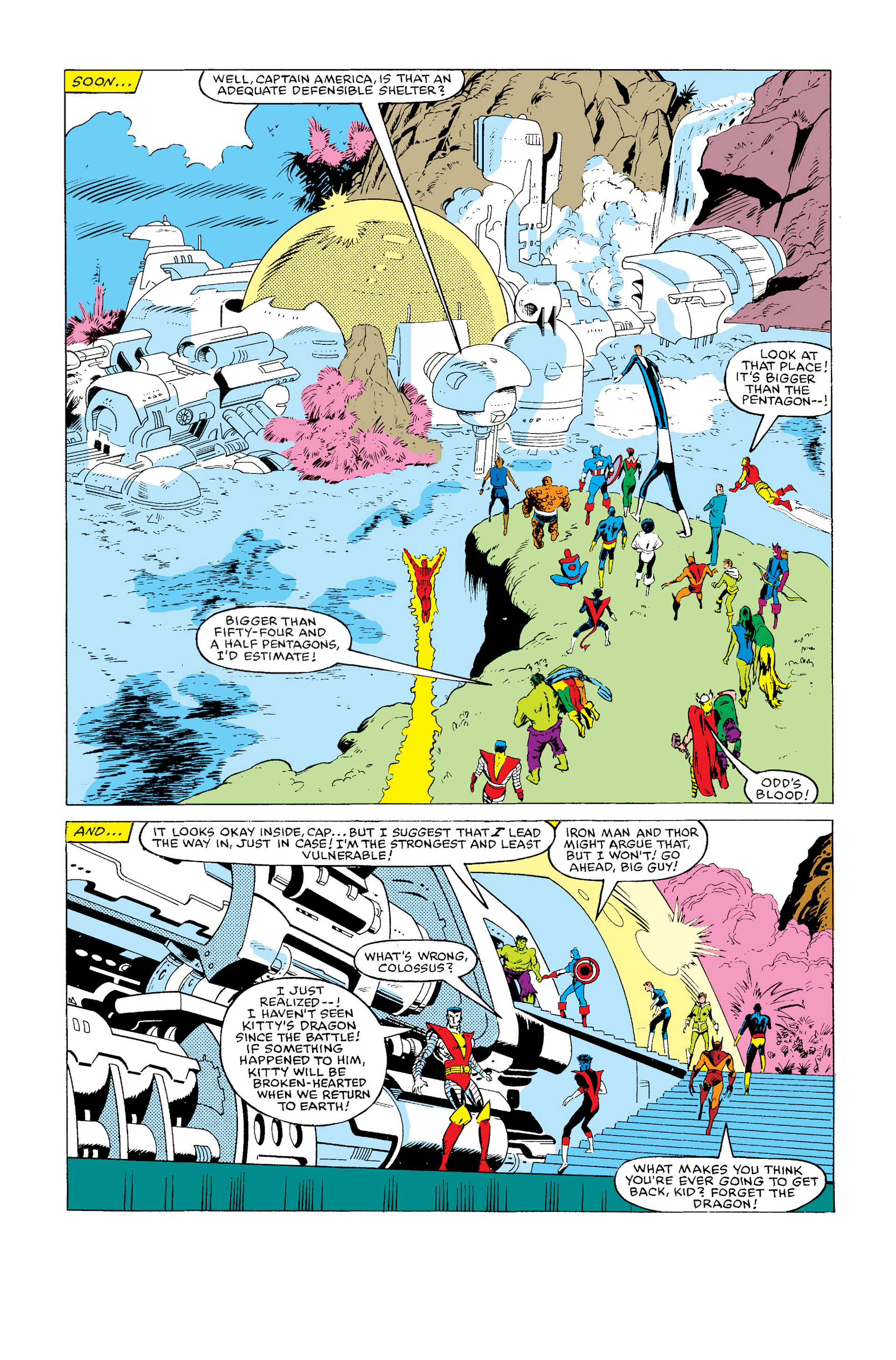 Read online Secret Wars (1985) comic -  Issue #2 - 12