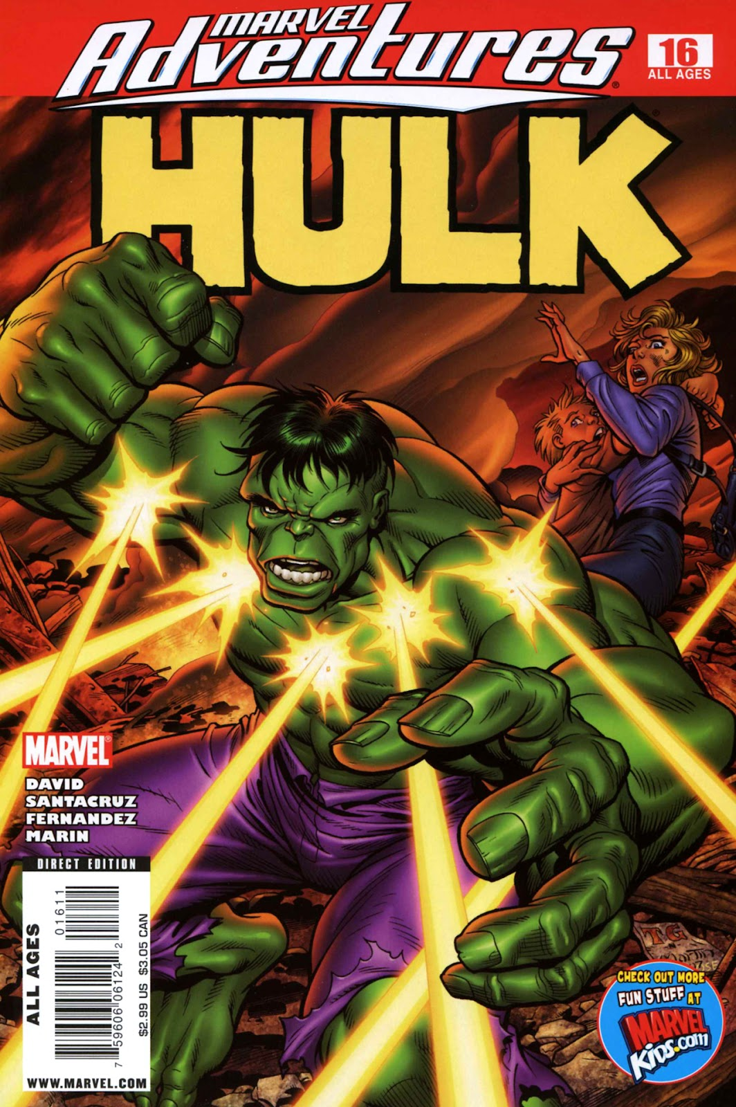 Marvel Adventures Hulk issue 16 - Page 1
