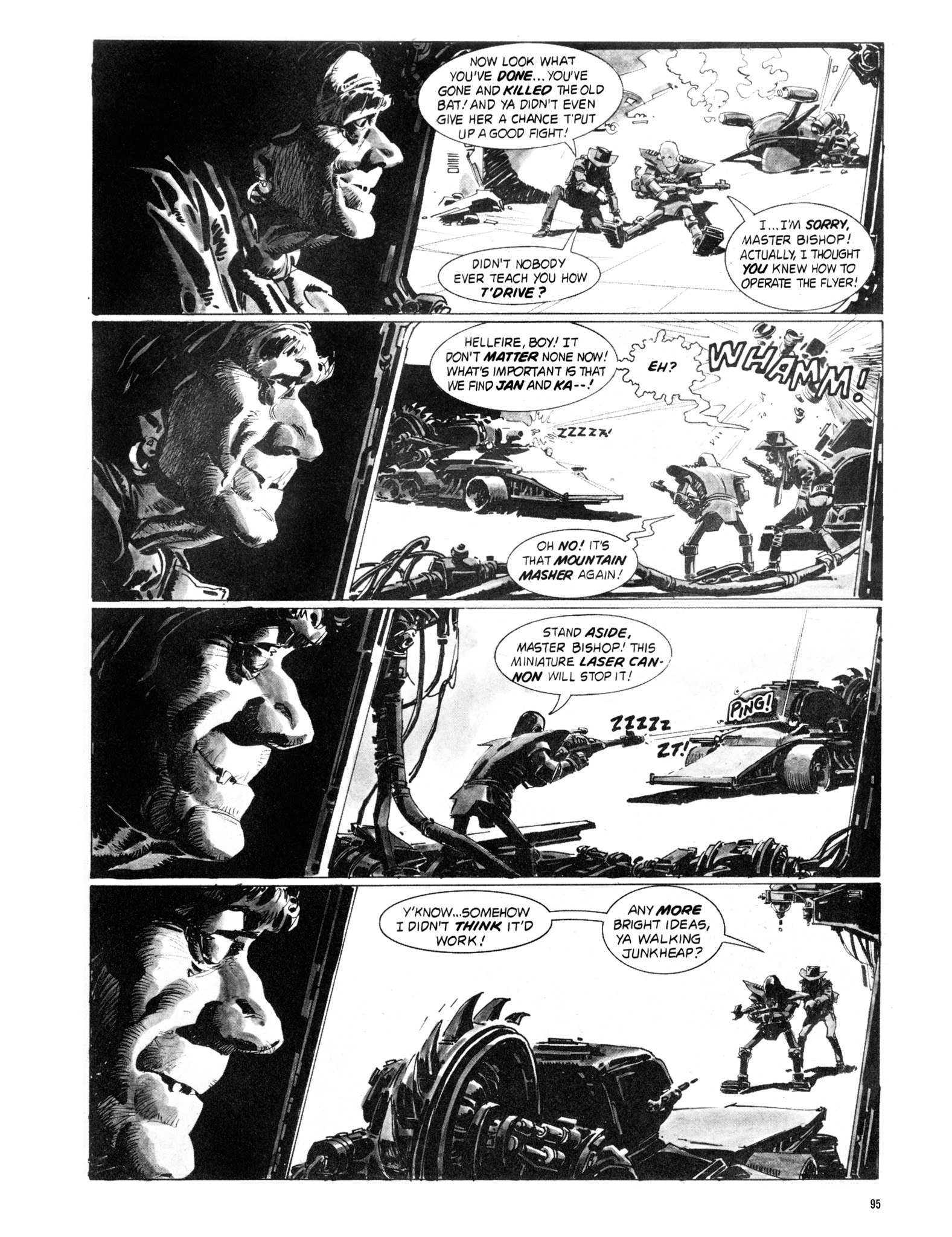 Read online Eerie Archives comic -  Issue # TPB 18 - 96
