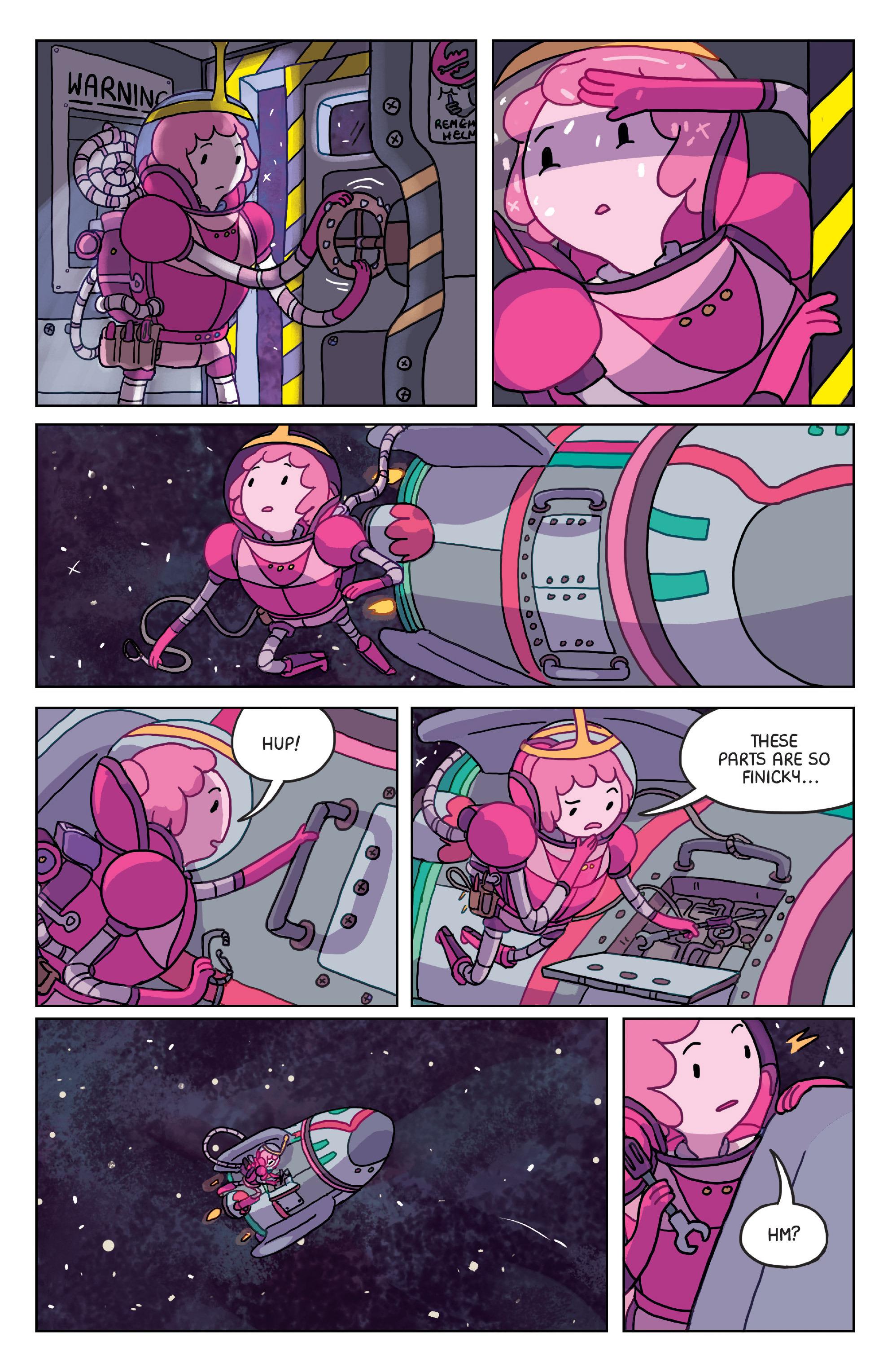 Read online Adventure Time: Marceline Gone Adrift comic -  Issue #4 - 5