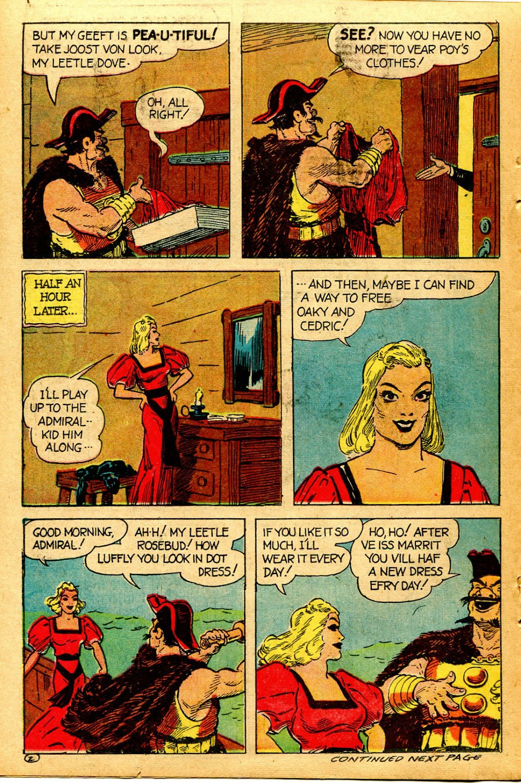 Read online Famous Funnies comic -  Issue #126 - 36