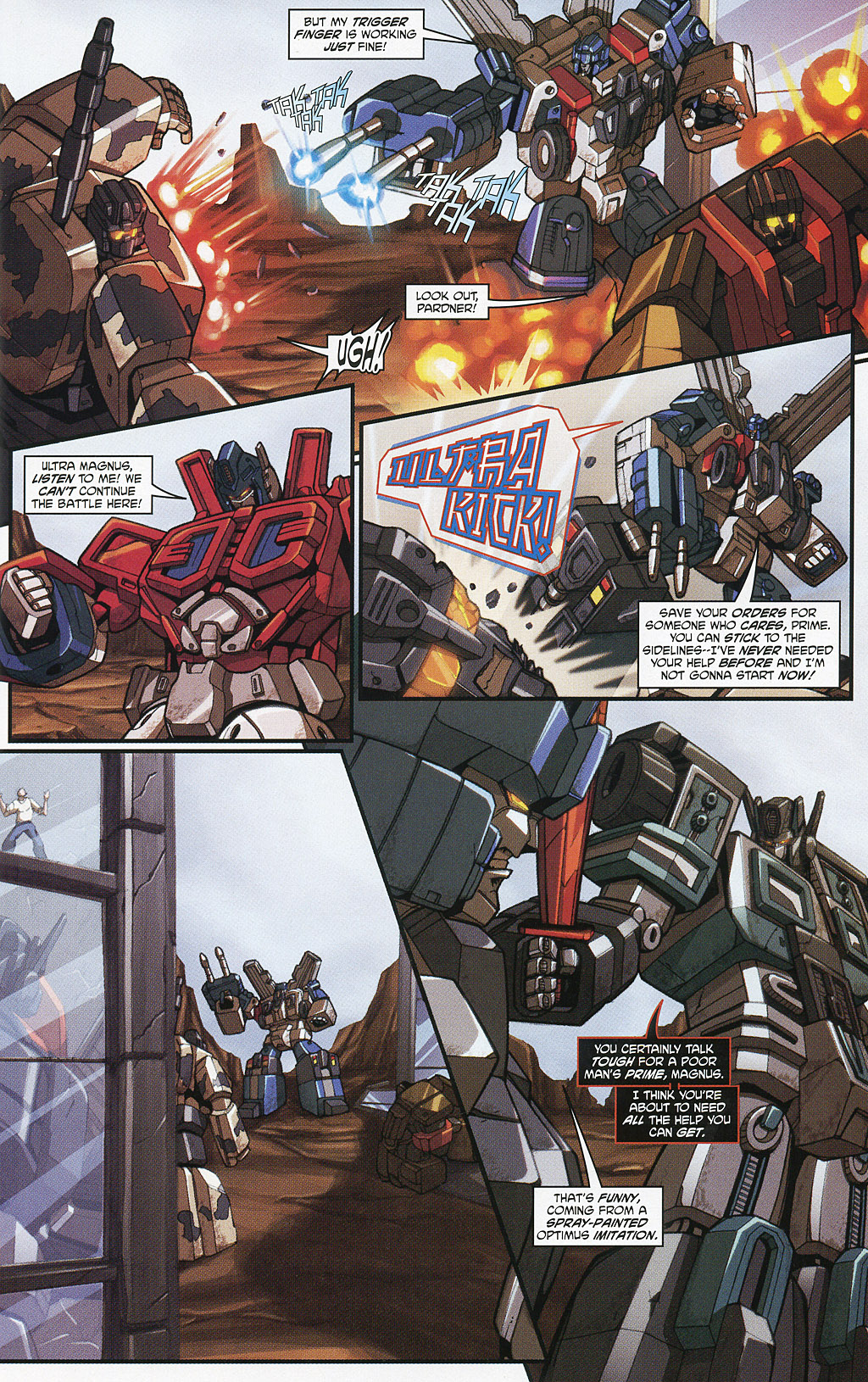 Read online Transformers 20th Anniversary Summer Special comic -  Issue # Full - 26