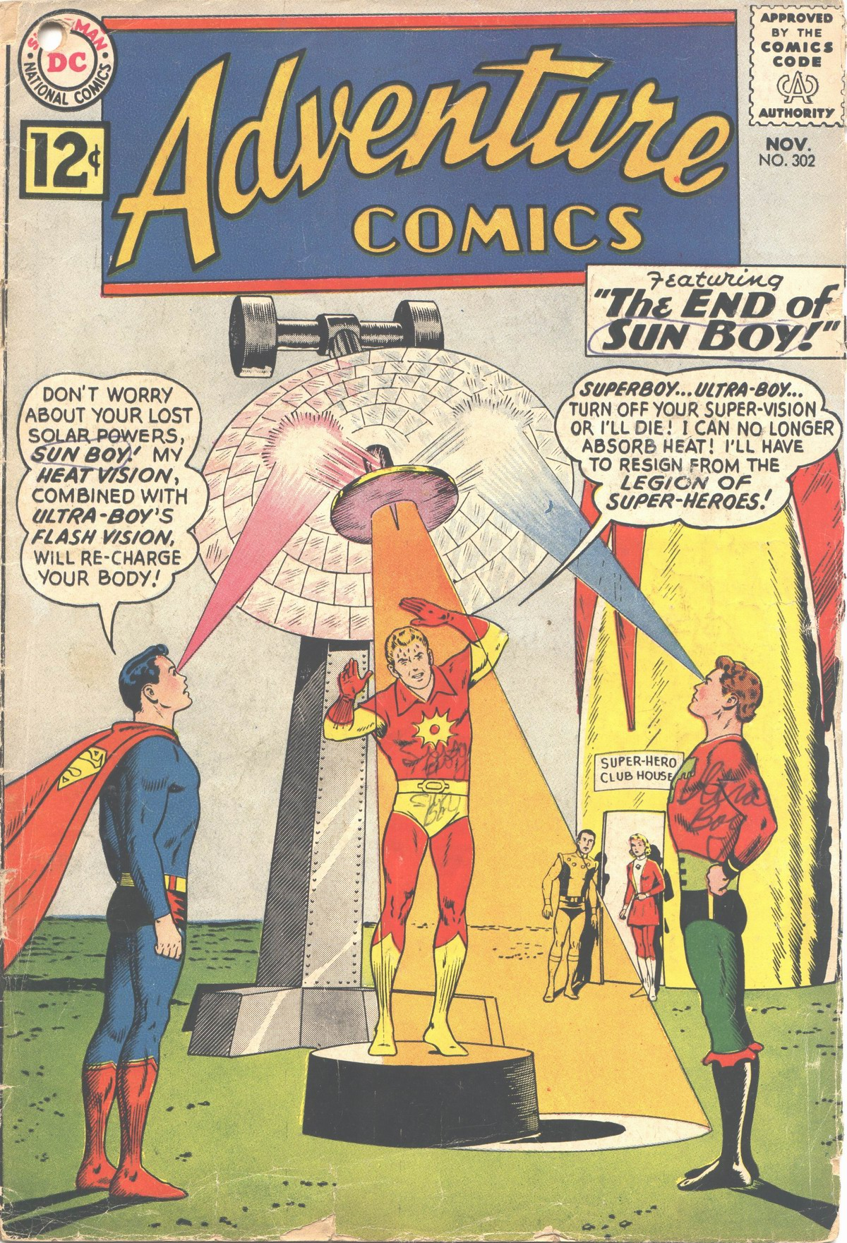 Read online Adventure Comics (1938) comic -  Issue #302 - 1