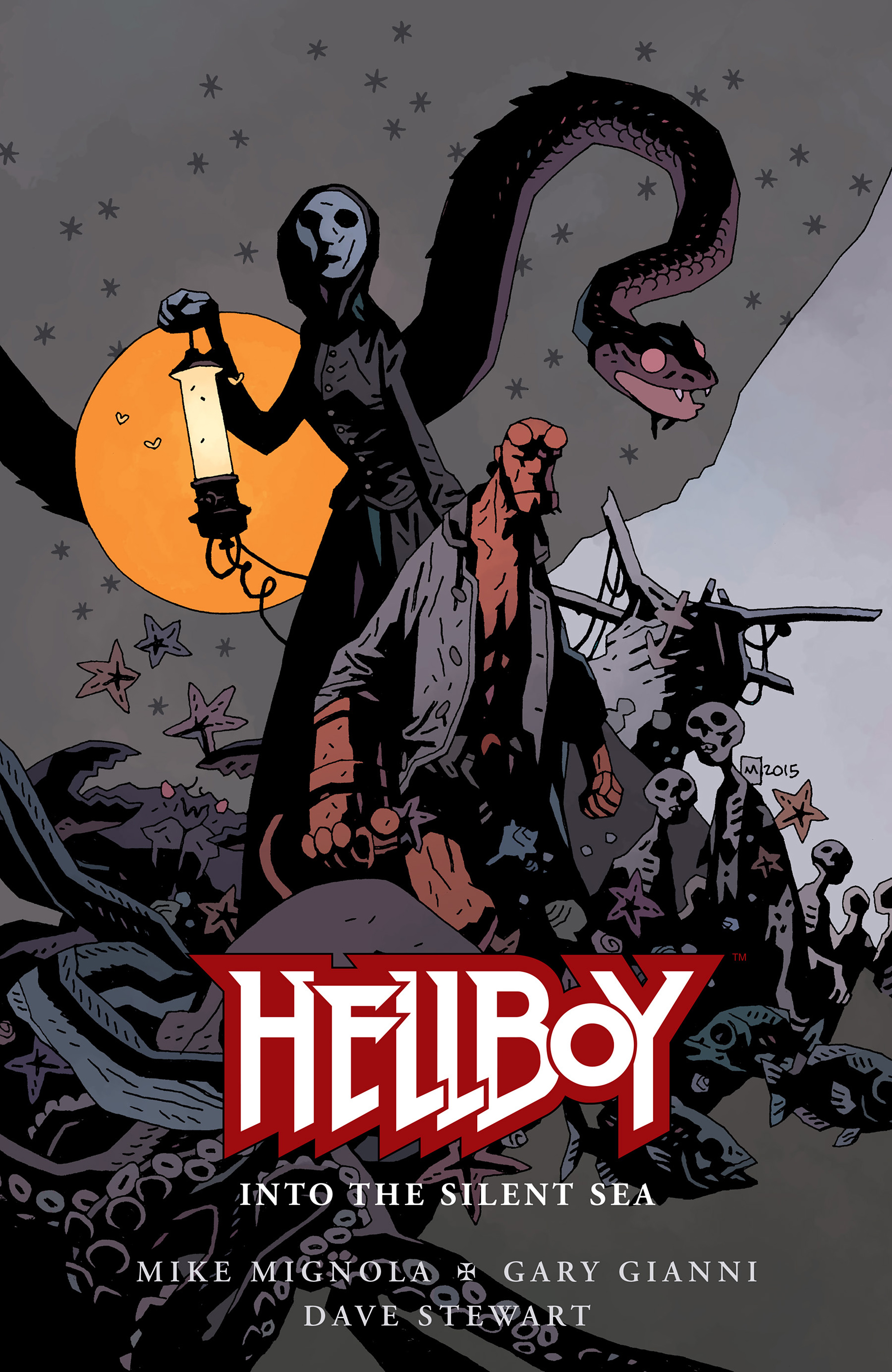 Read online Hellboy: Into the Silent Sea comic -  Issue # Full - 1