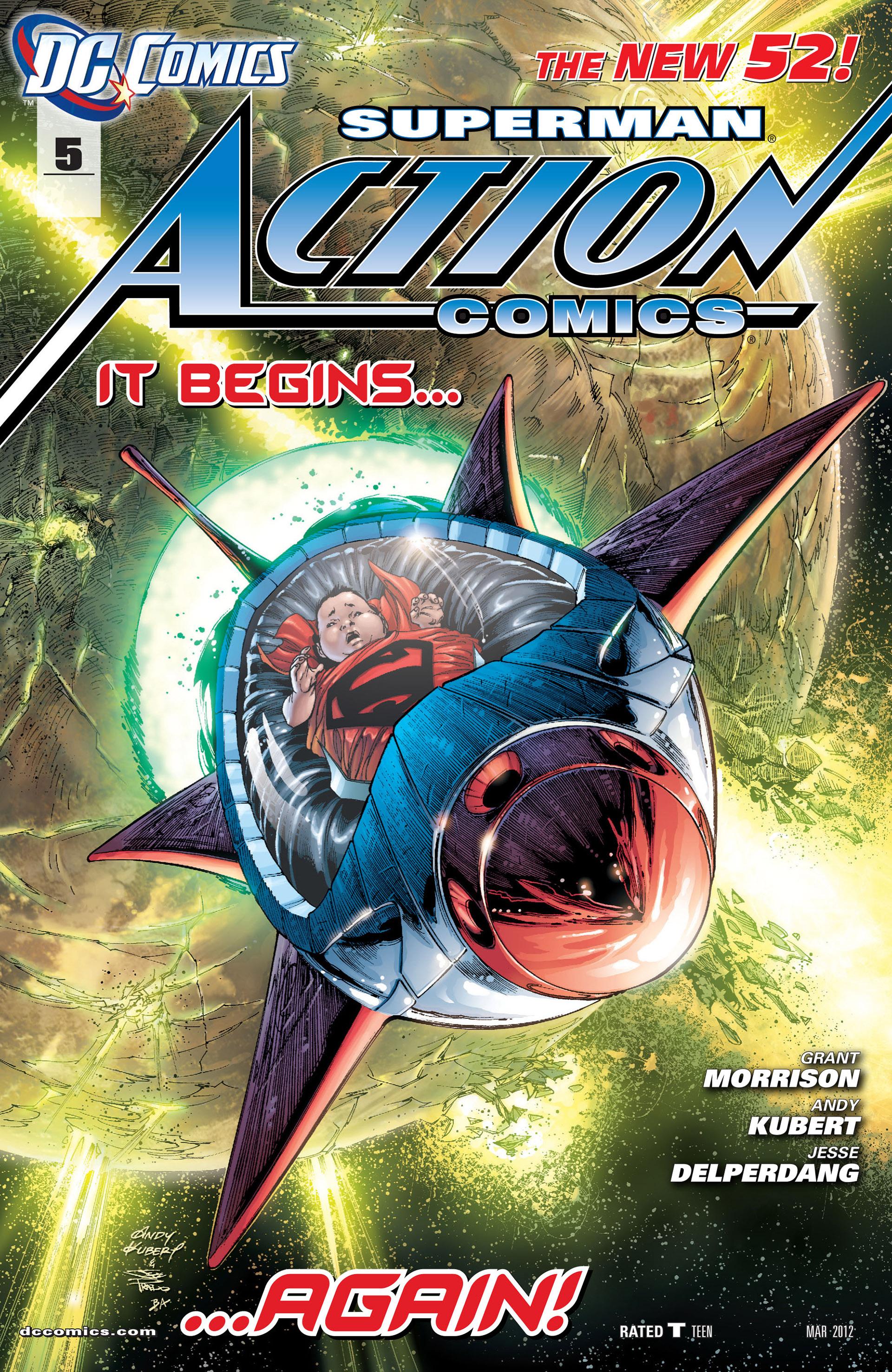 Action Comics (2011) 5 Page 1