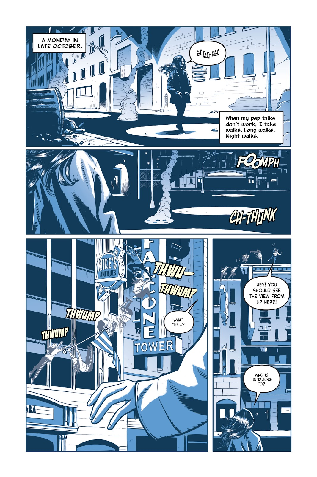 Read online Under the Moon: A Catwoman Tale comic -  Issue # TPB (Part 1) - 85