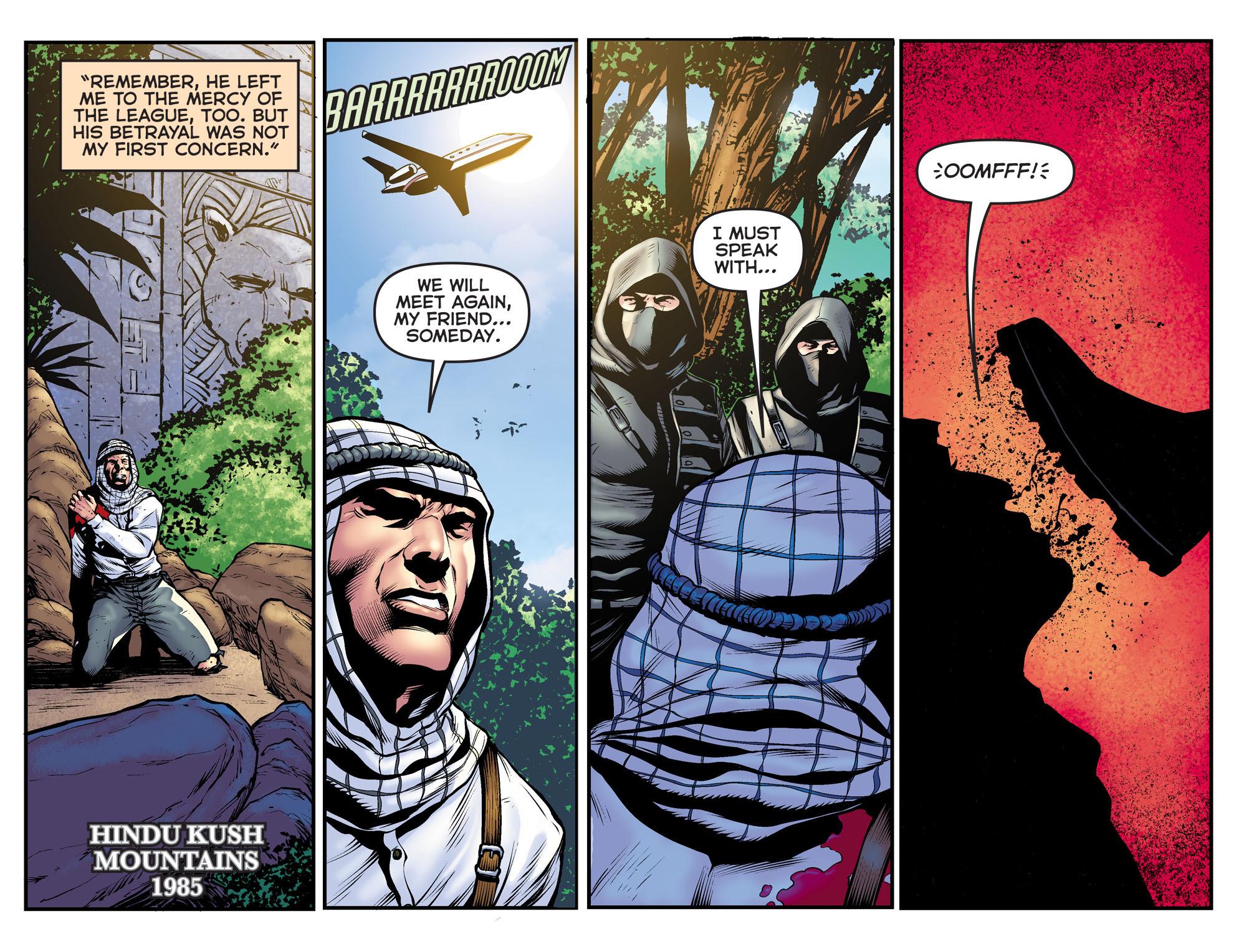 Read online Arrow: The Dark Archer comic -  Issue #11 - 5