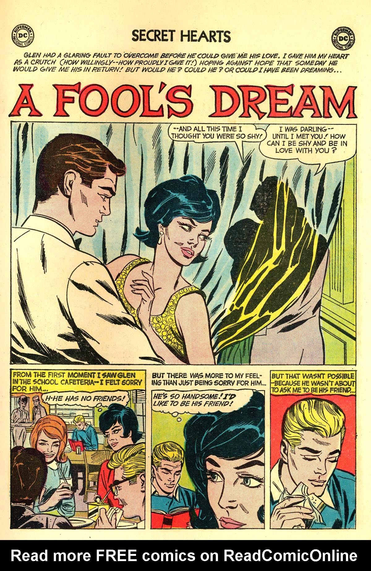 Read online Secret Hearts comic -  Issue #89 - 11