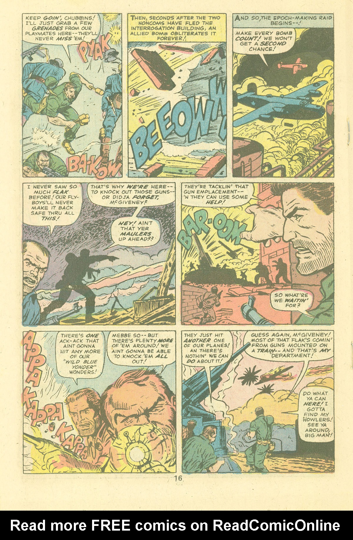 Read online Sgt. Fury comic -  Issue #124 - 18