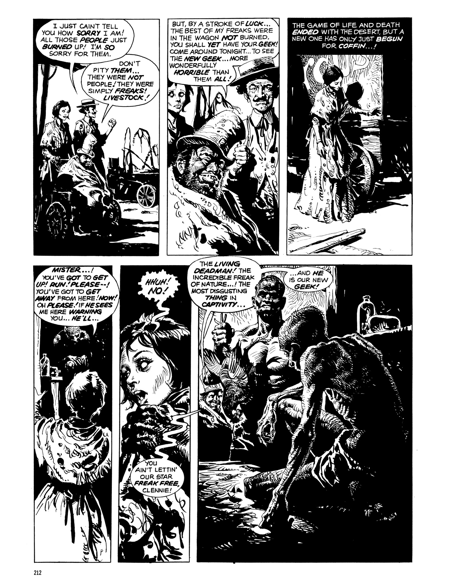 Read online Eerie Archives comic -  Issue # TPB 14 - 213