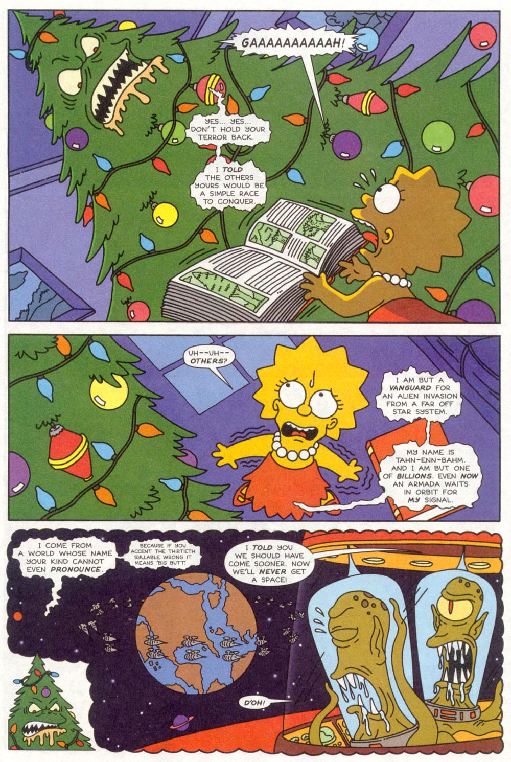 Read online Treehouse of Horror comic -  Issue #4 - 8