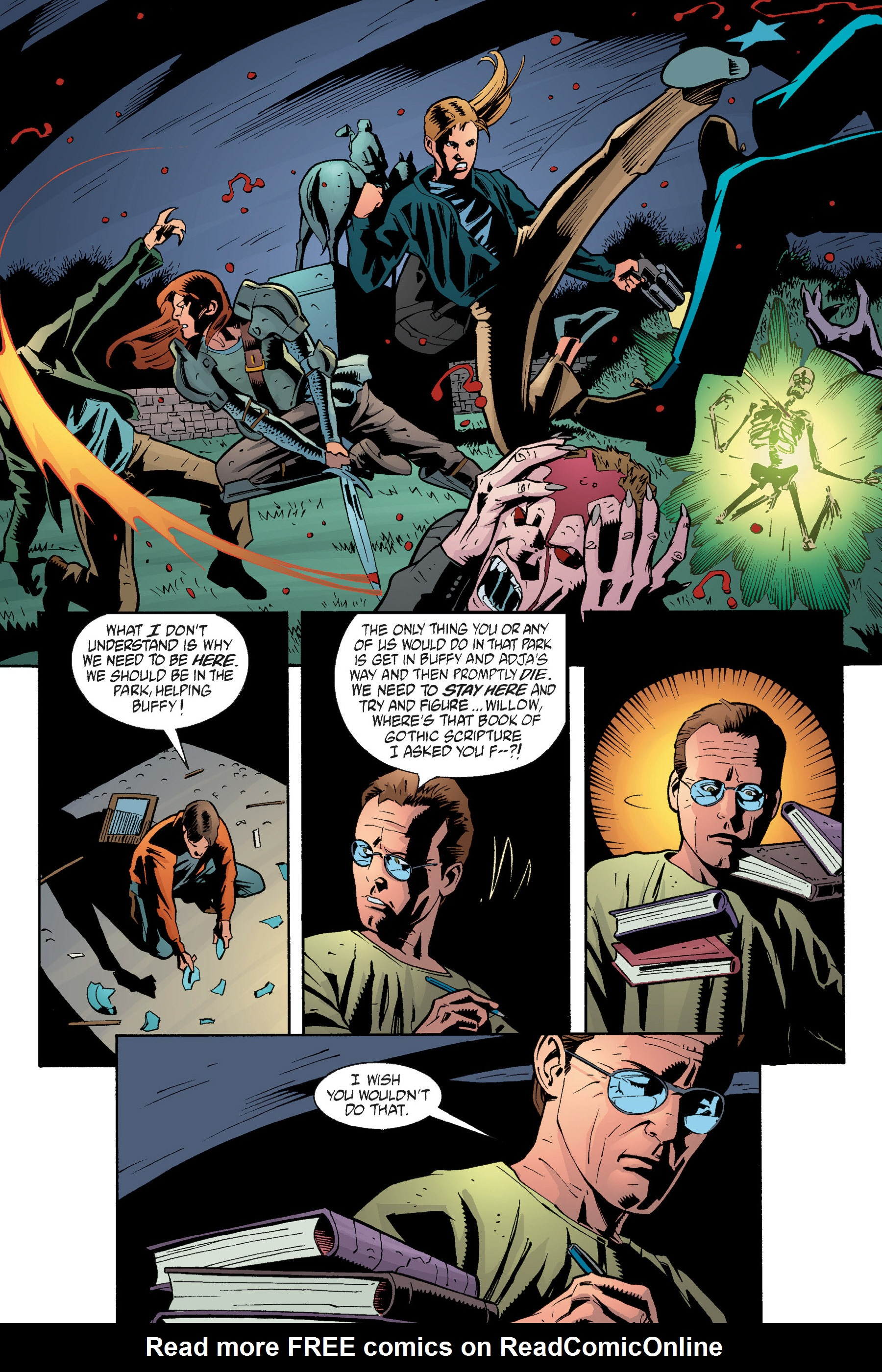Read online Buffy the Vampire Slayer: Omnibus comic -  Issue # TPB 5 - 270