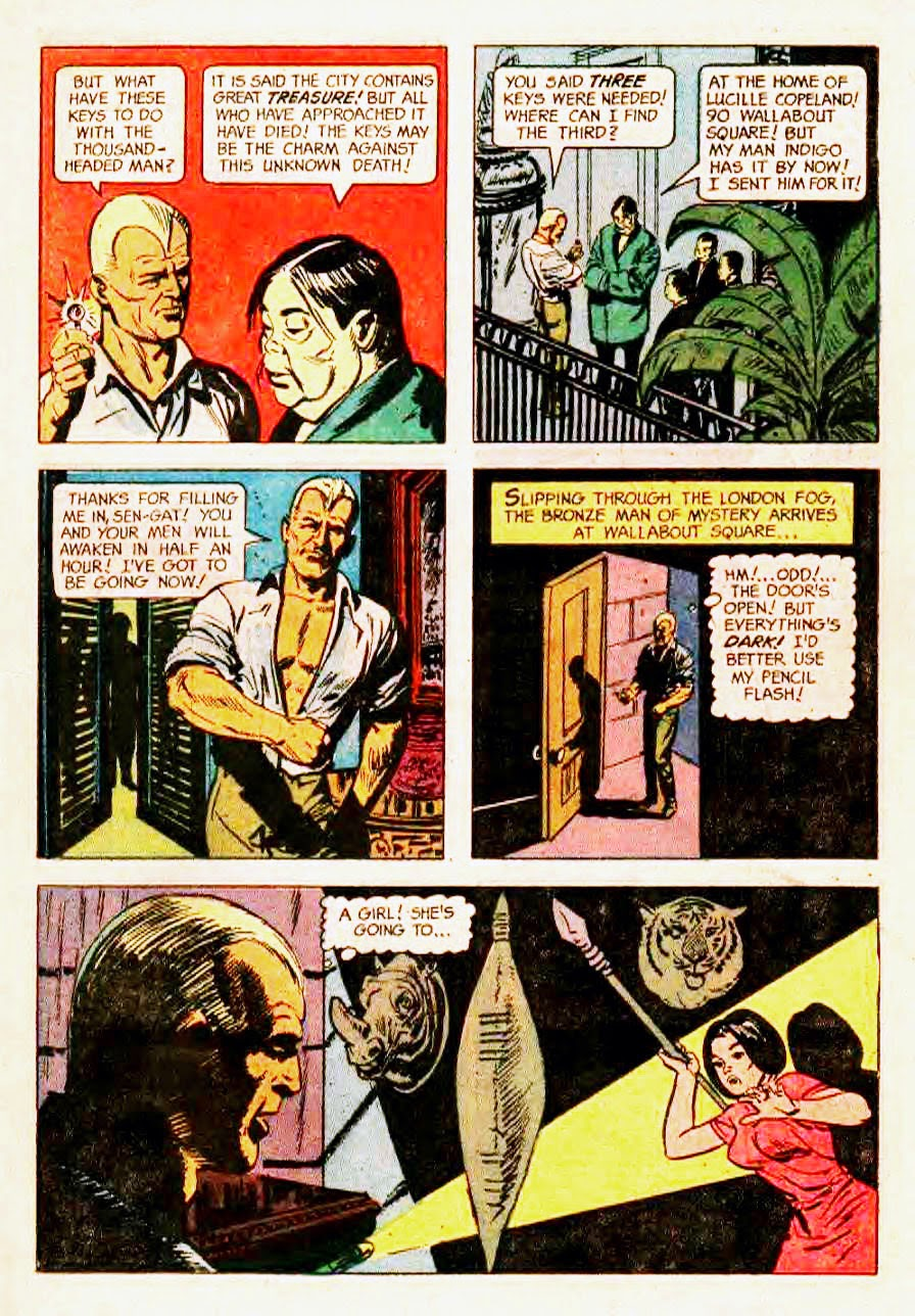 Read online Doc Savage (1966) comic -  Issue # Full - 11