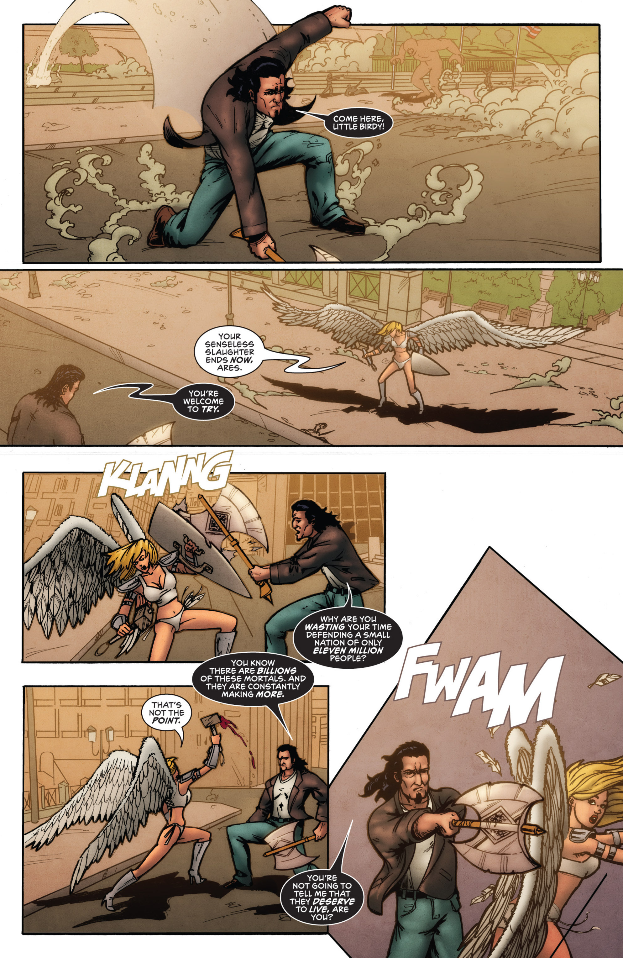 Read online Grimm Fairy Tales presents Grimm Universe comic -  Issue # TPB - 32