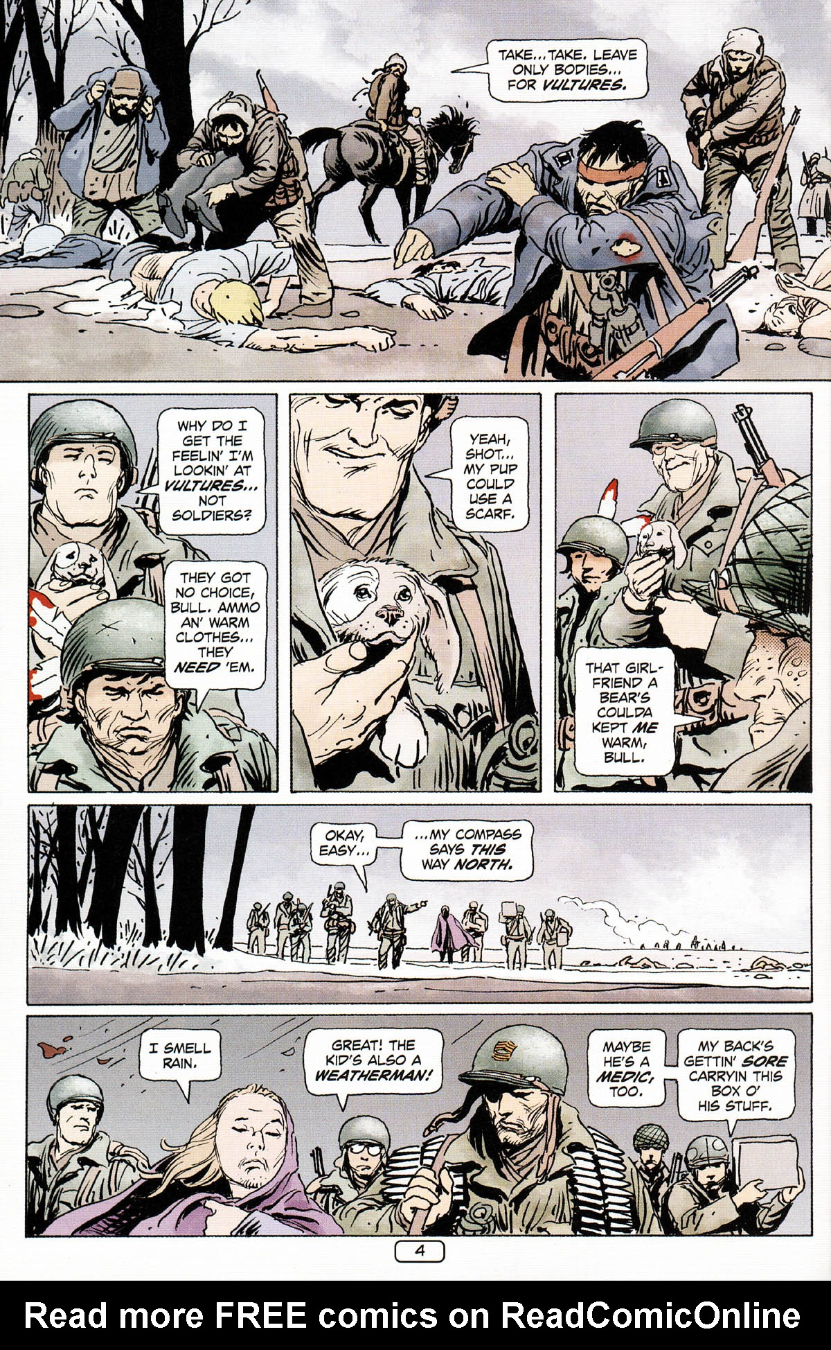 Read online Sgt. Rock: The Prophecy comic -  Issue #3 - 5