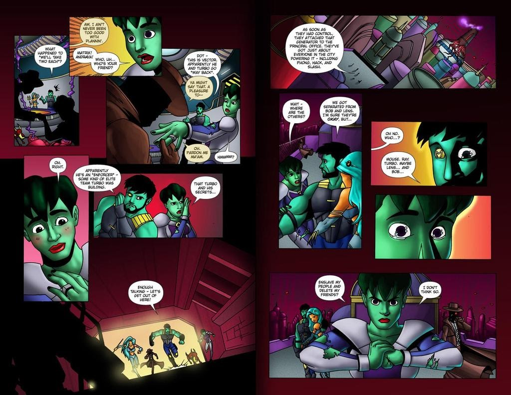 Read online ReBoot: Paradigms Lost comic -  Issue # Full - 27