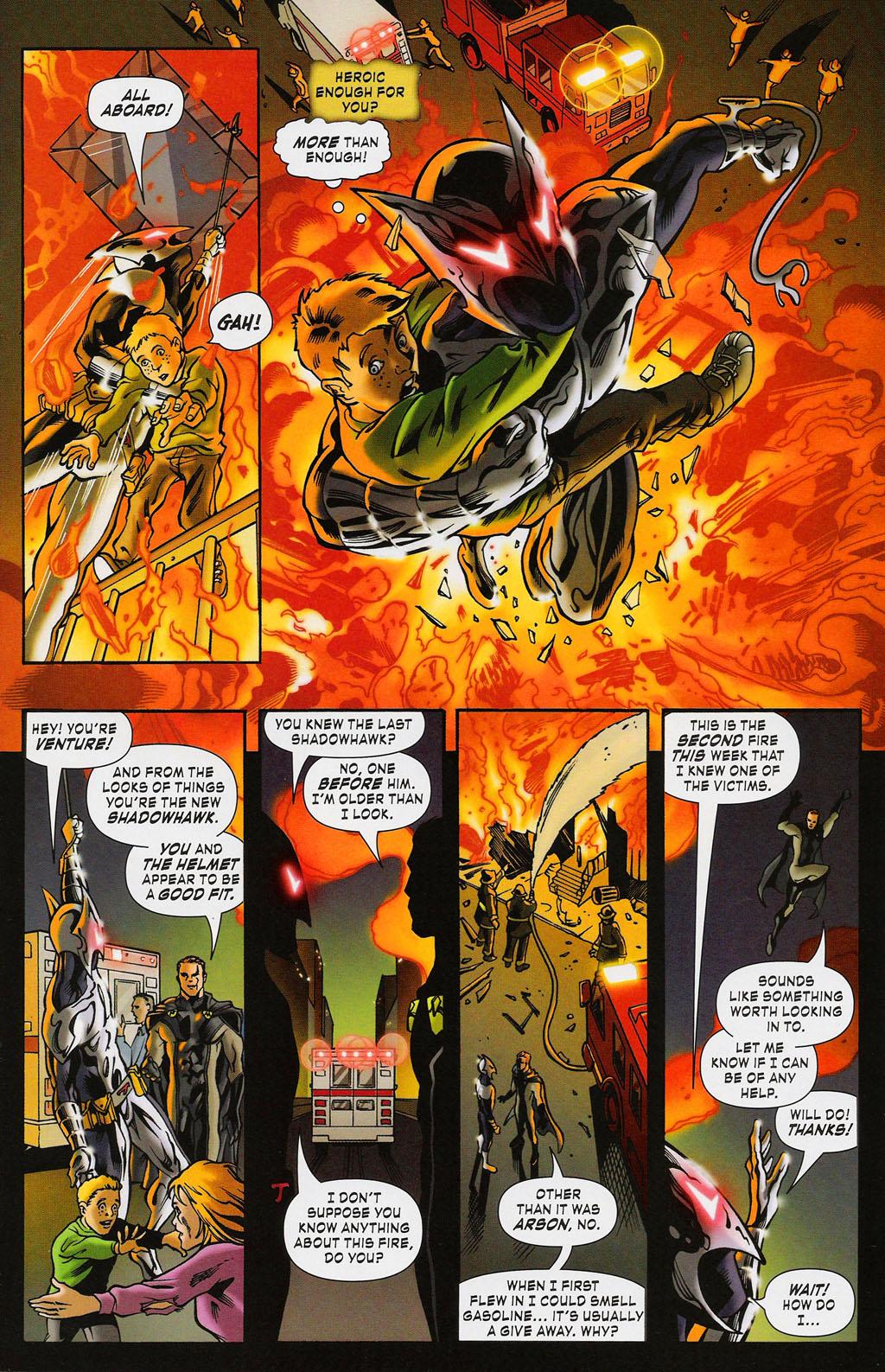 Read online ShadowHawk (2005) comic -  Issue #3 - 11