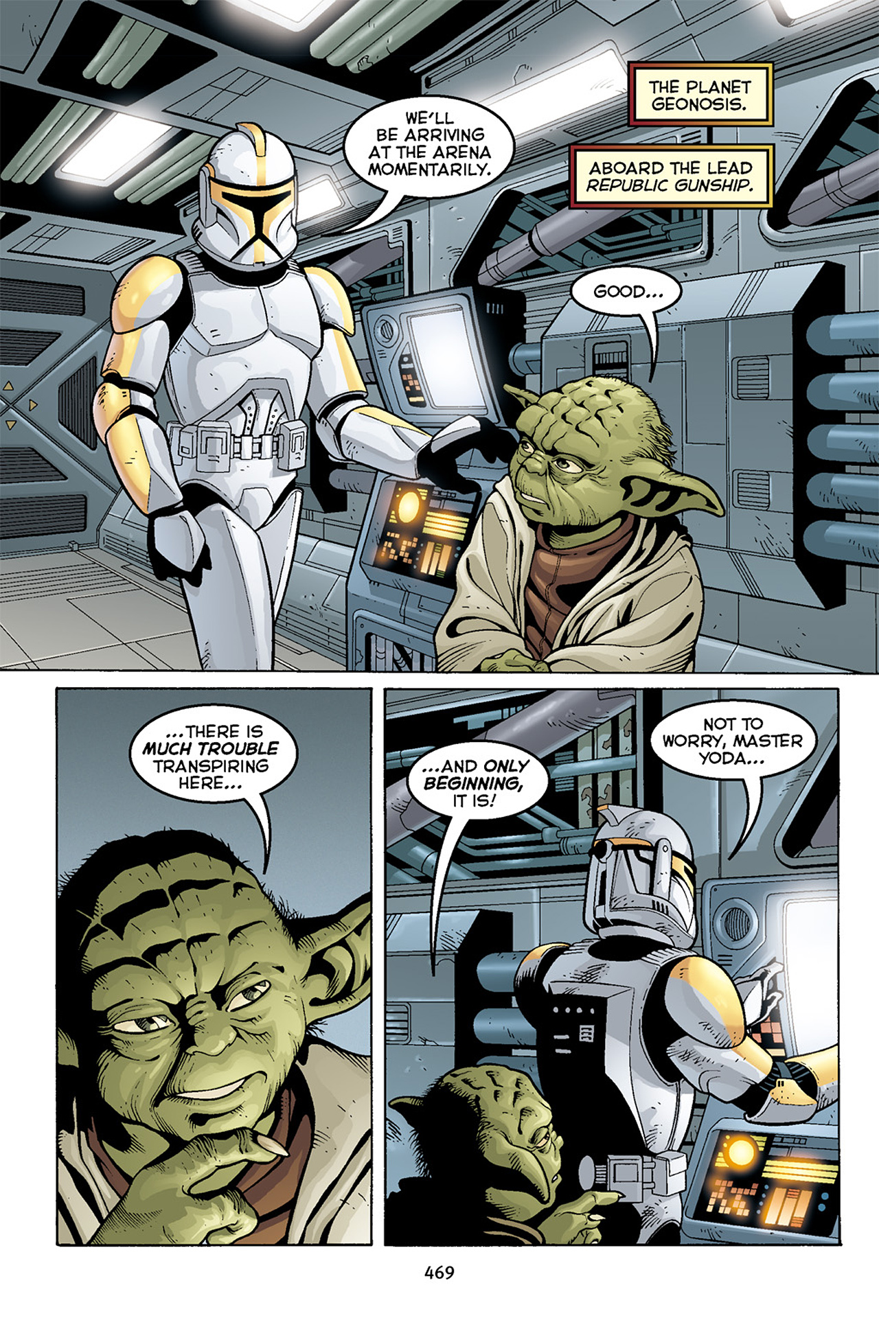 Read online Star Wars Omnibus comic -  Issue # Vol. 10 - 462