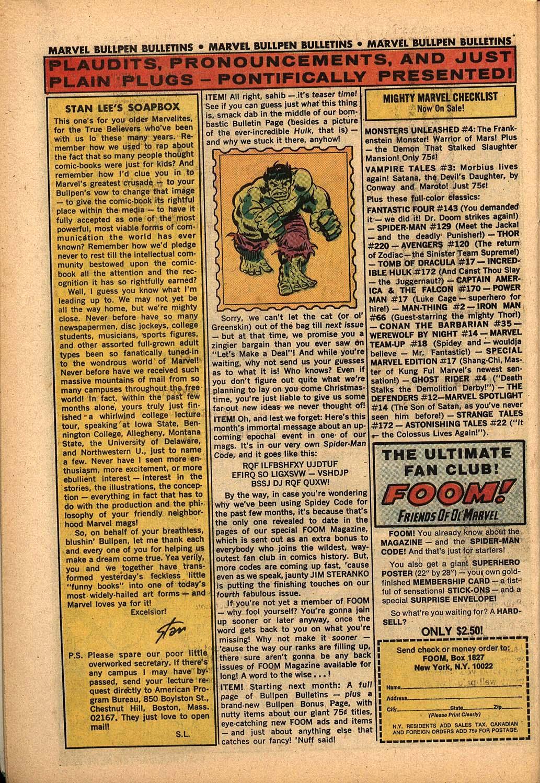 Read online Astonishing Tales (1970) comic -  Issue #22 - 18