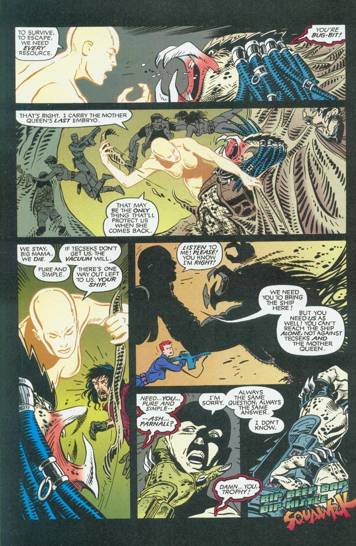 Read online Aliens/Predator: The Deadliest of the Species comic -  Issue #9 - 12